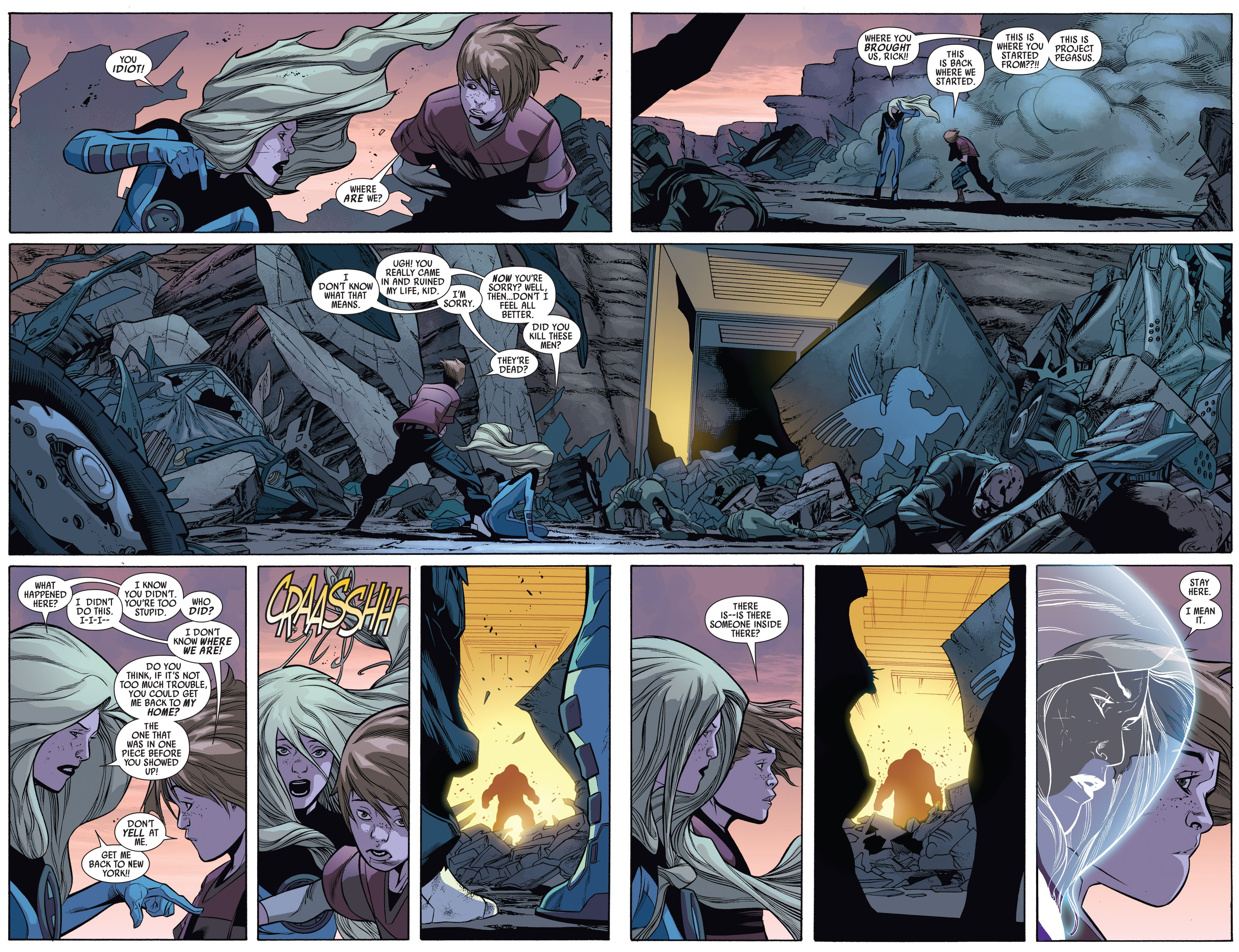 Read online Ultimate Comics Doomsday comic -  Issue # Full - 137