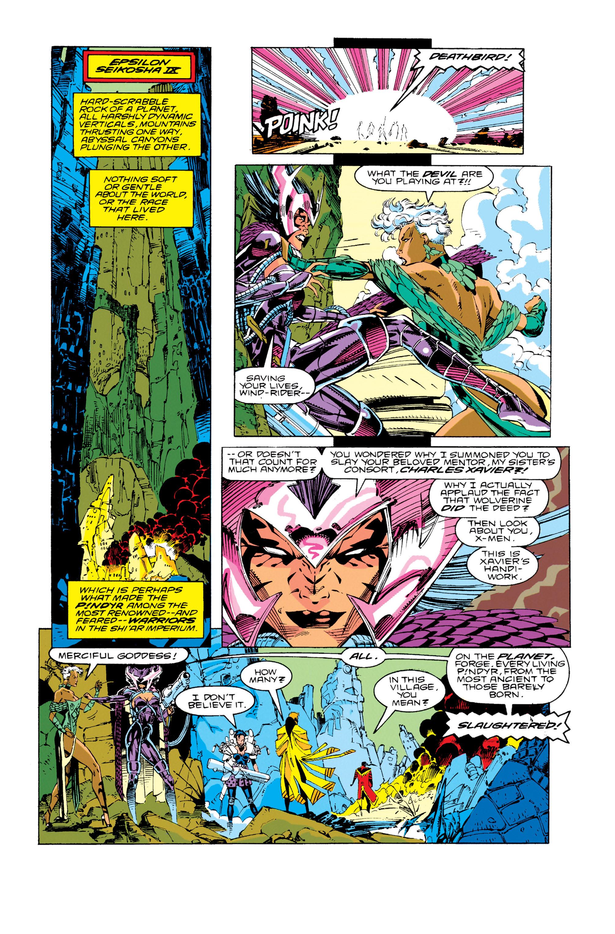 Read online Uncanny X-Men (1963) comic -  Issue #276 - 15