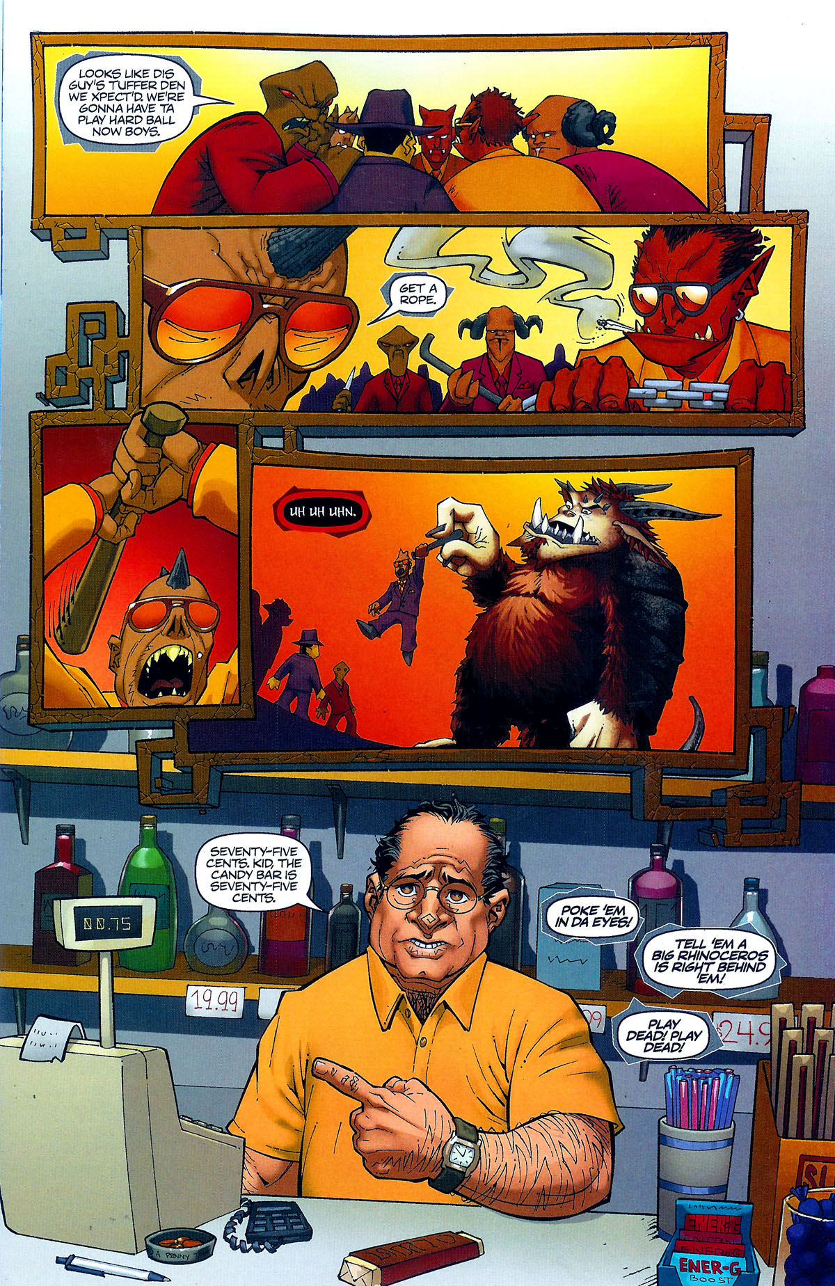 Read online Shrugged (2006) comic -  Issue #0 - 4