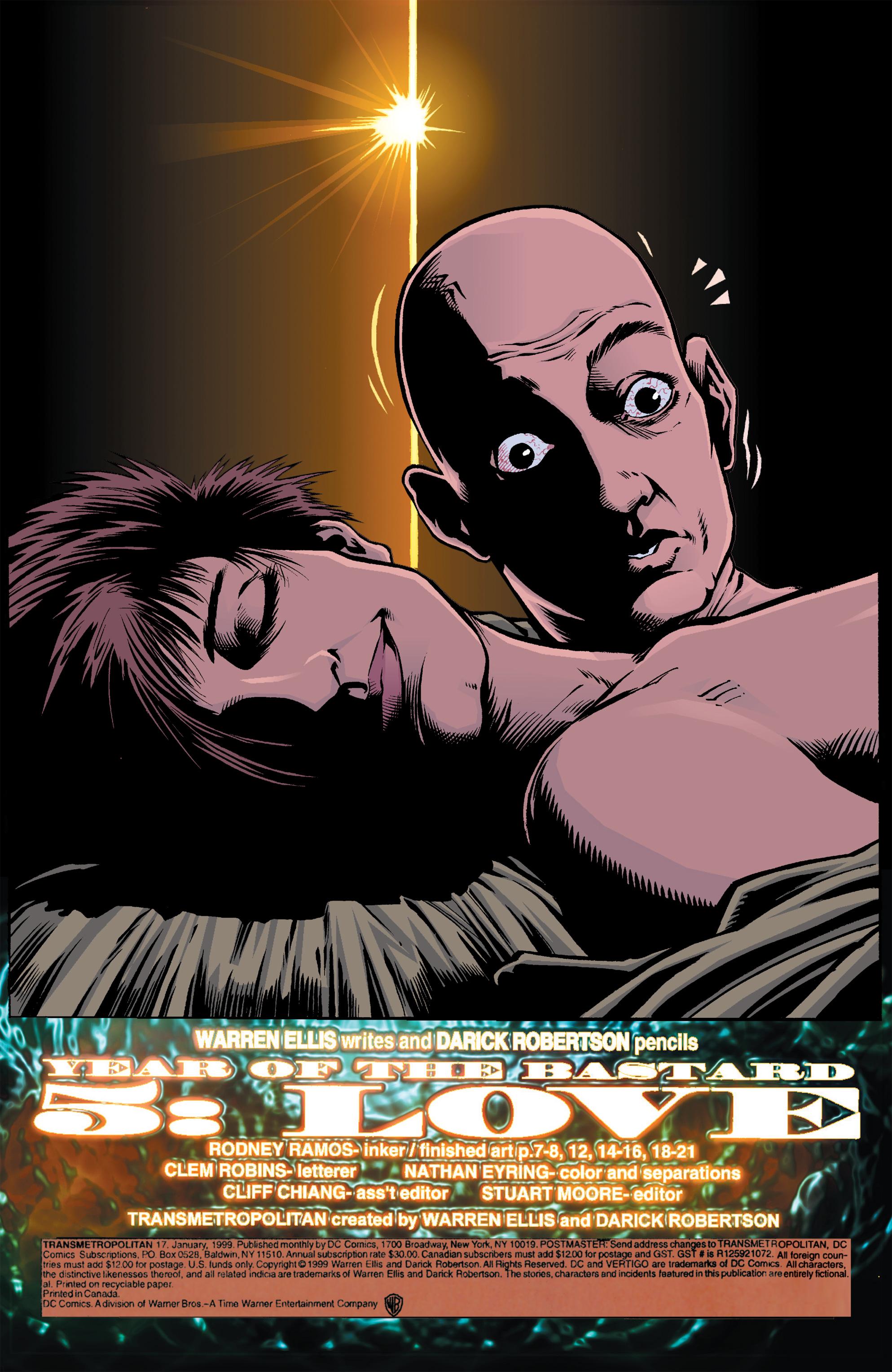 Read online Transmetropolitan comic -  Issue #17 - 3