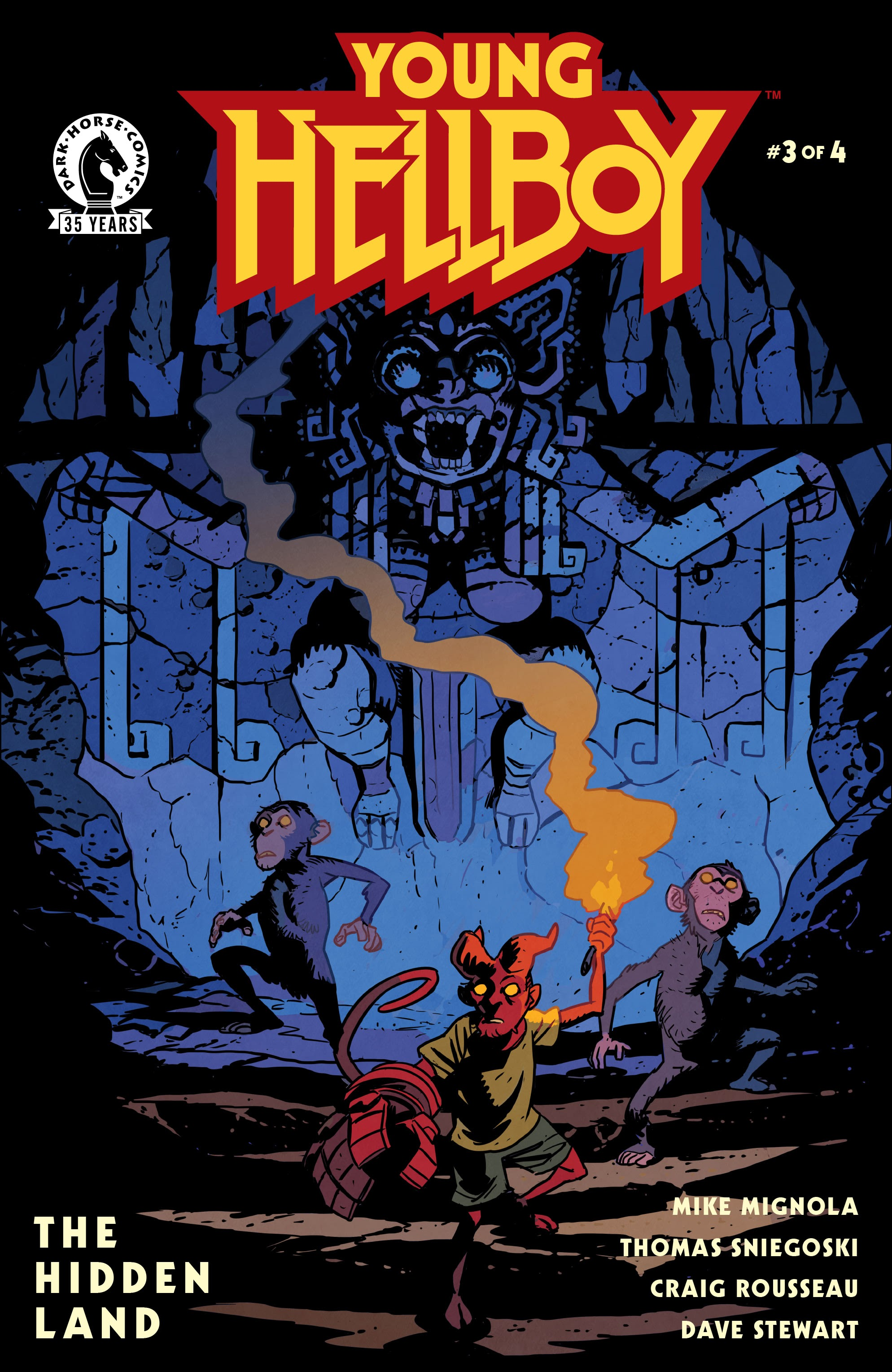 Young Hellboy  3 Page 1