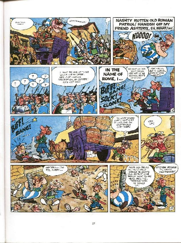 Read online Asterix comic -  Issue #8 - 24