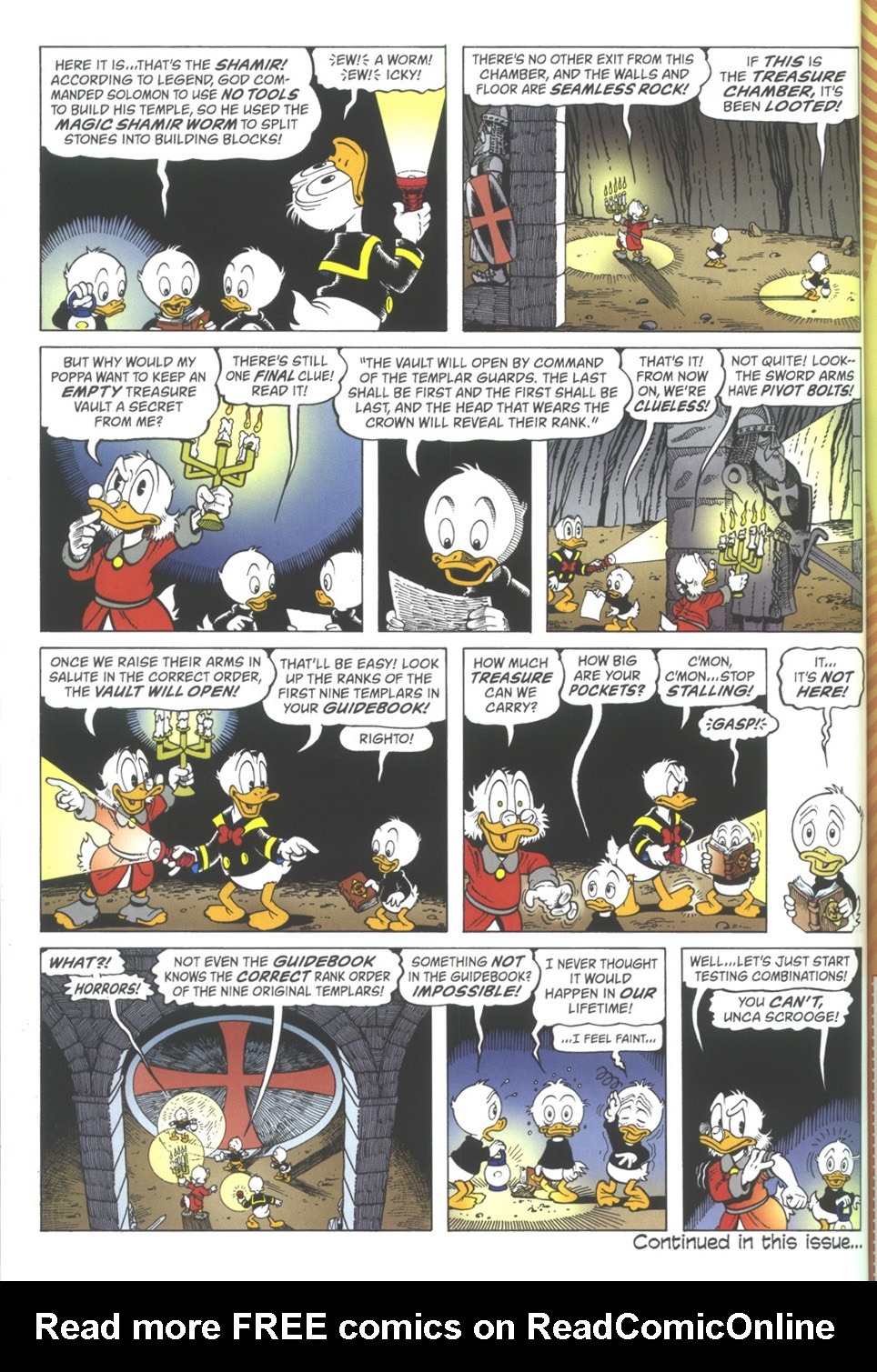 Read online Uncle Scrooge (1953) comic -  Issue #342 - 32