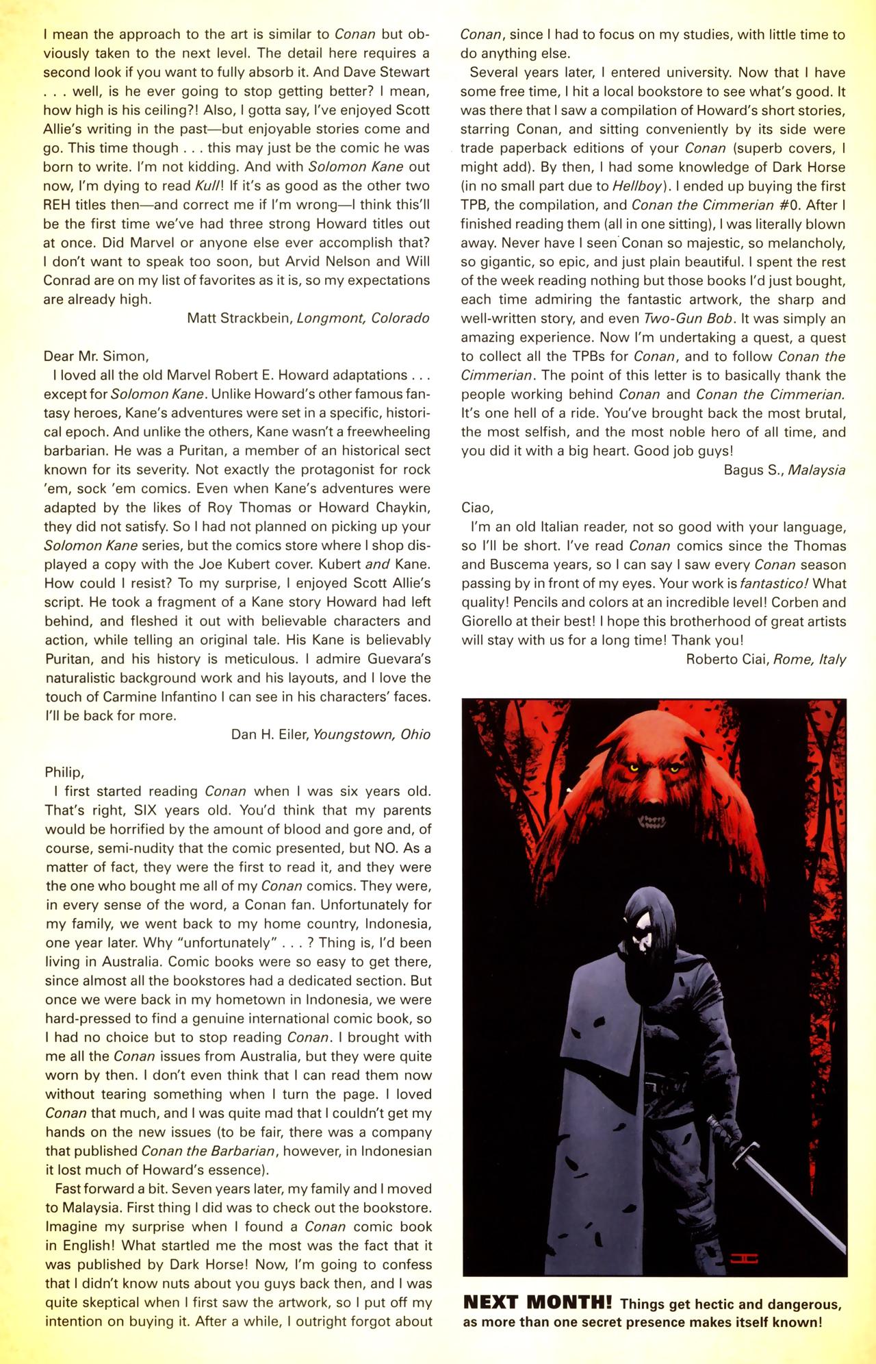 Read online Solomon Kane comic -  Issue #3 - 26