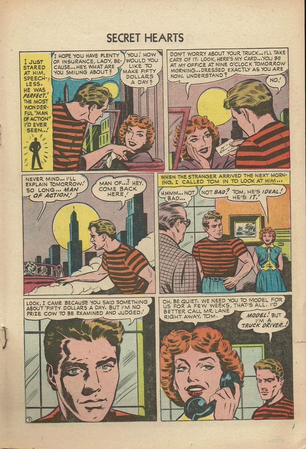 Read online Secret Hearts comic -  Issue #14 - 19