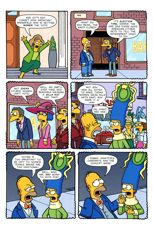 Read online Simpsons Comics comic -  Issue #200 - 22