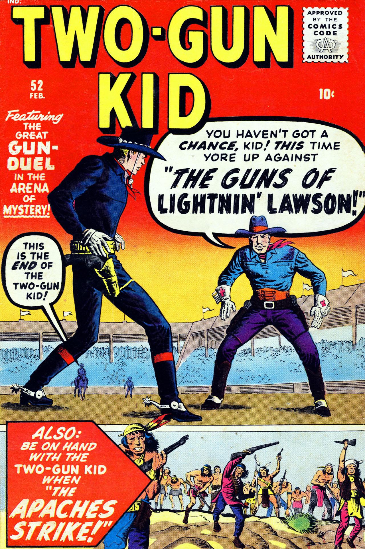 Read online Two-Gun Kid comic -  Issue #52 - 1