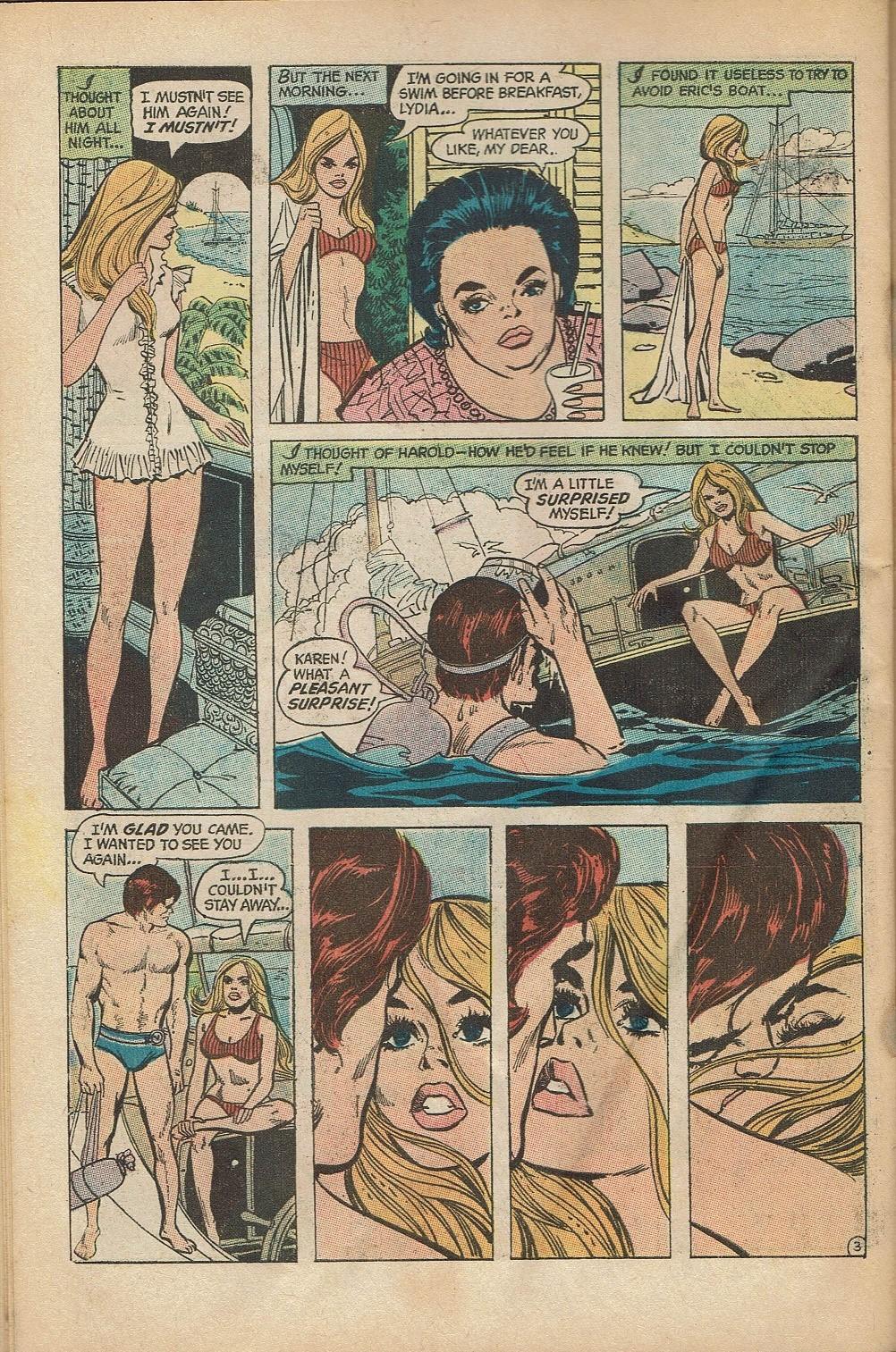 Read online Secret Hearts comic -  Issue #152 - 30
