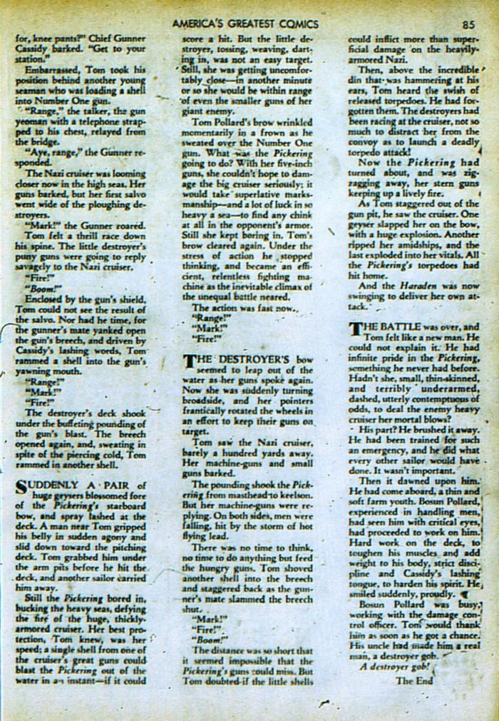 Read online America's Greatest Comics comic -  Issue #4 - 86