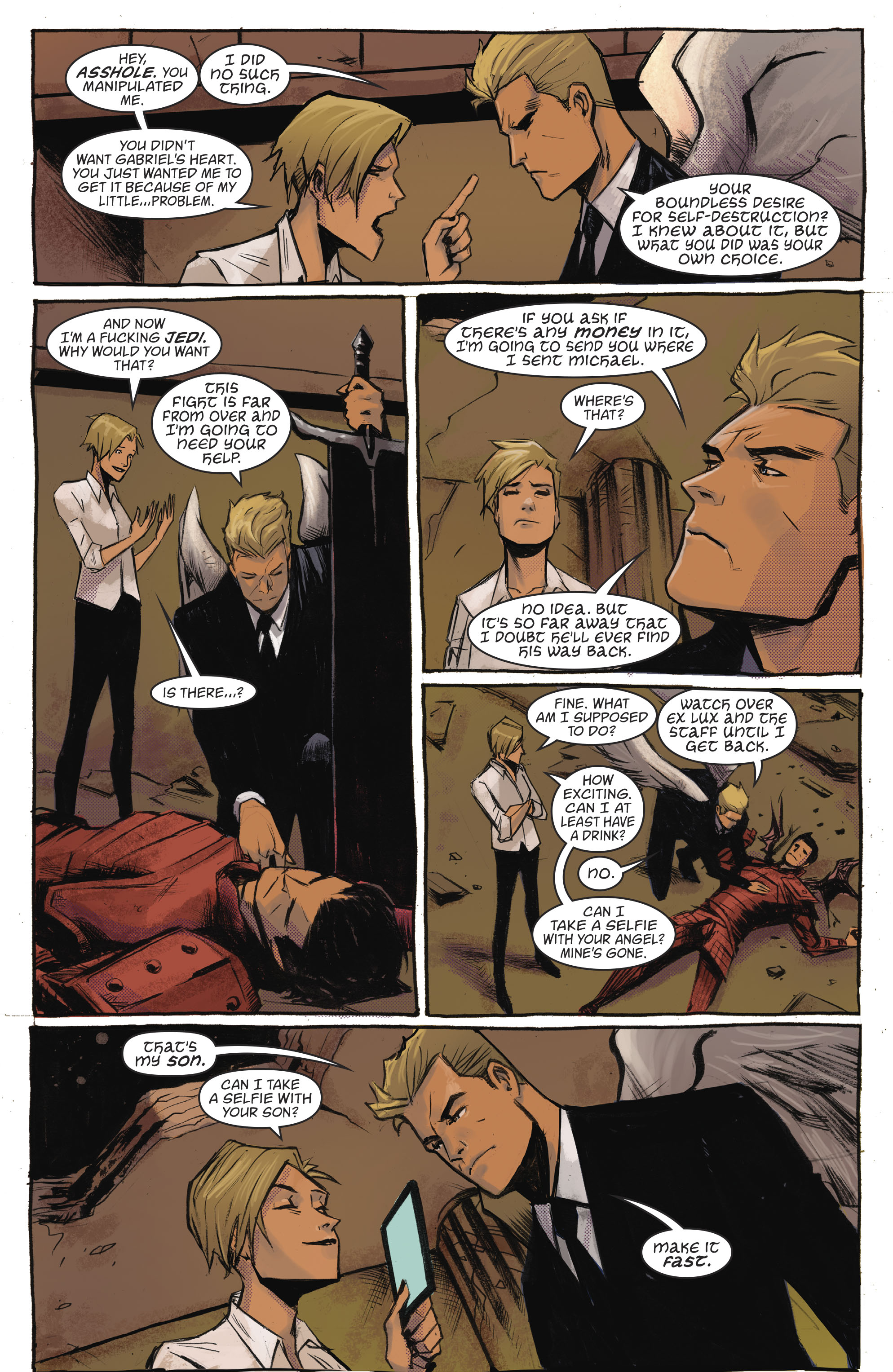 Read online Lucifer (2016) comic -  Issue #18 - 9