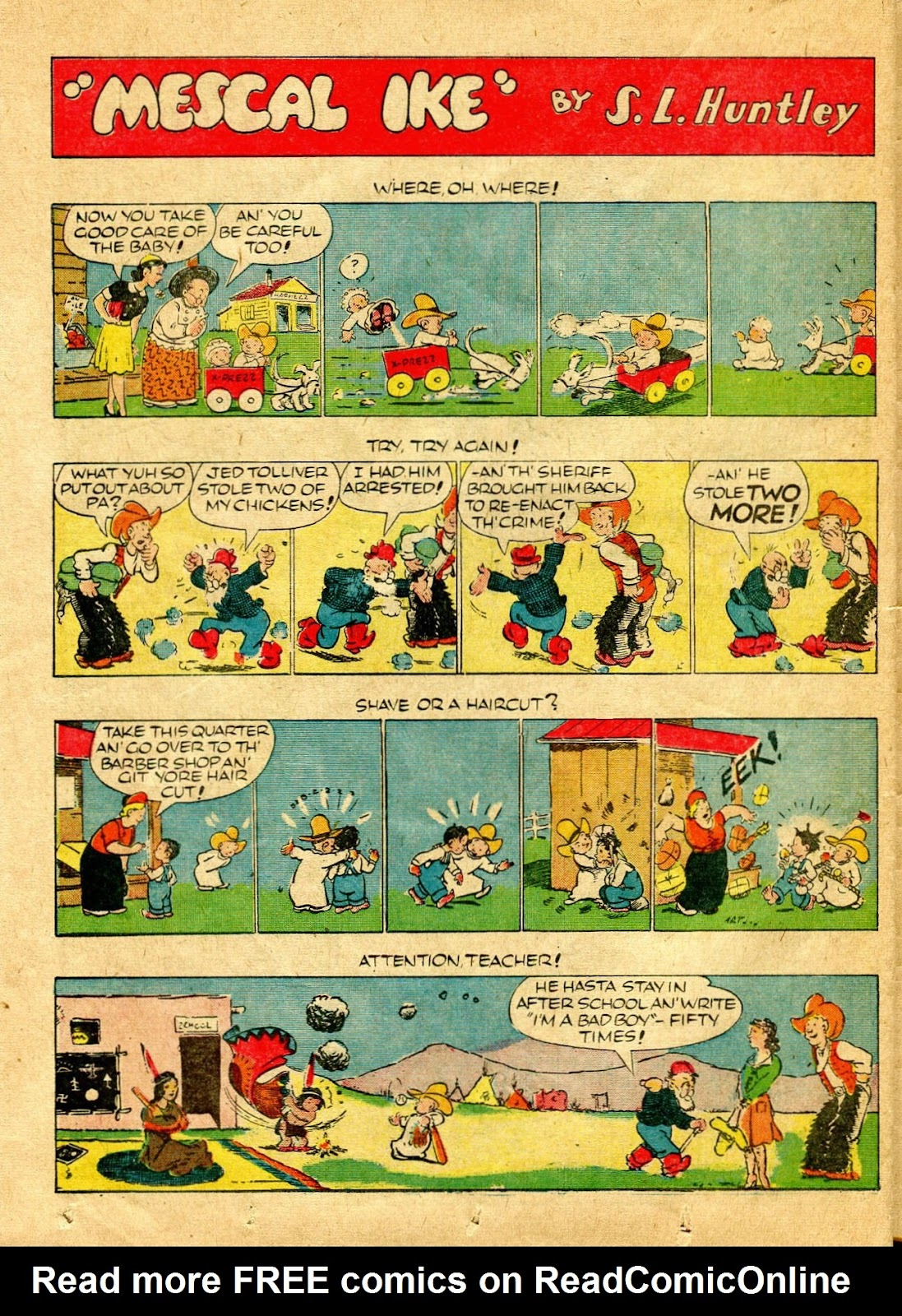 Read online Famous Funnies comic -  Issue #64 - 49