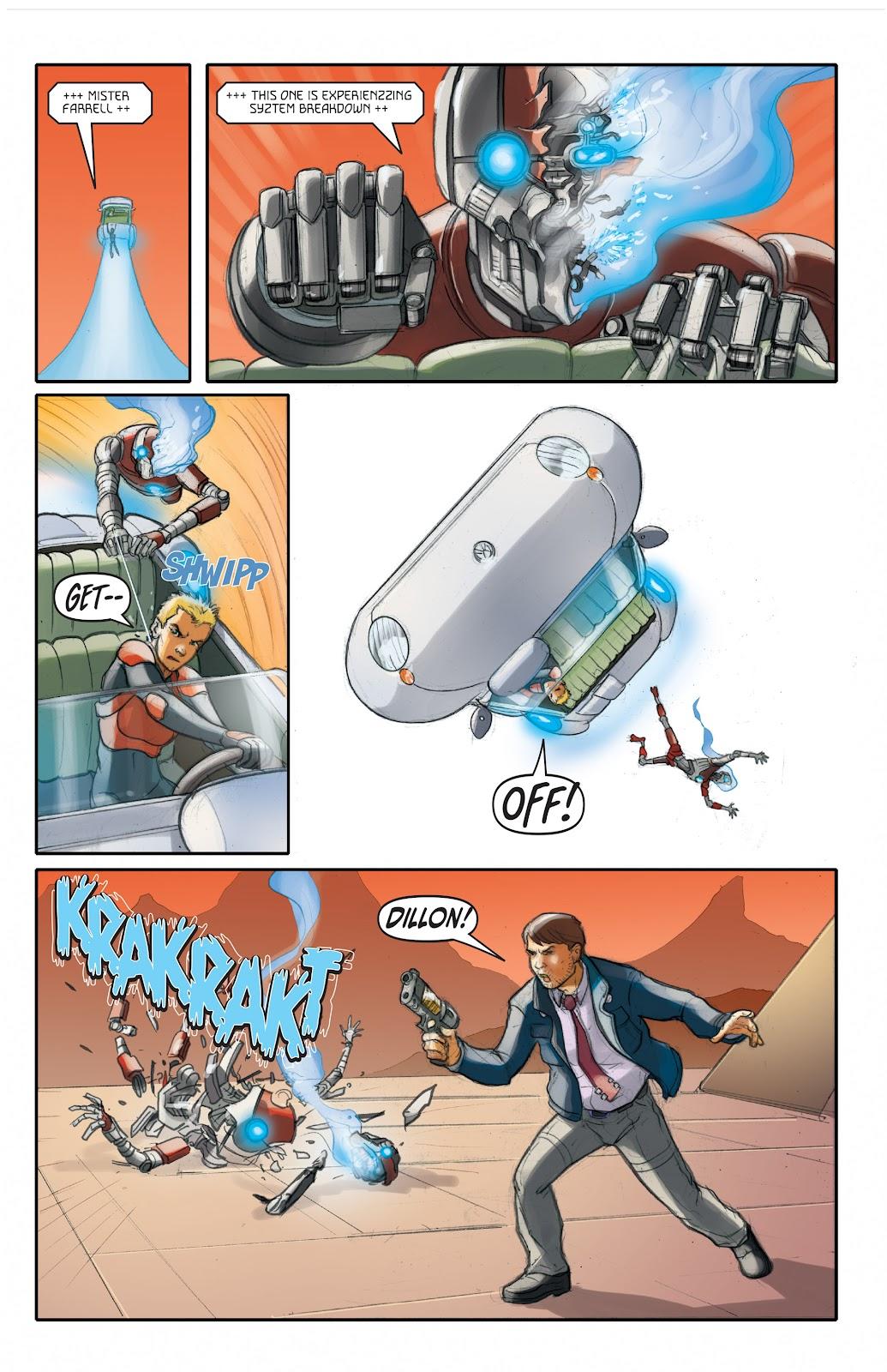 Read online Elephantmen 2261 Season Two: The Pentalion Job comic -  Issue # TPB - 70