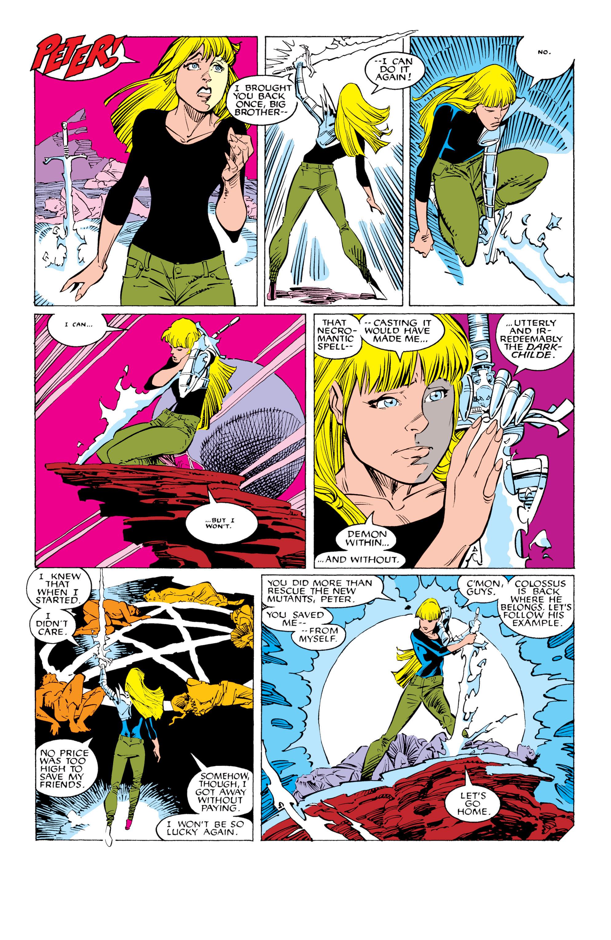 Read online Uncanny X-Men (1963) comic -  Issue #231 - 24