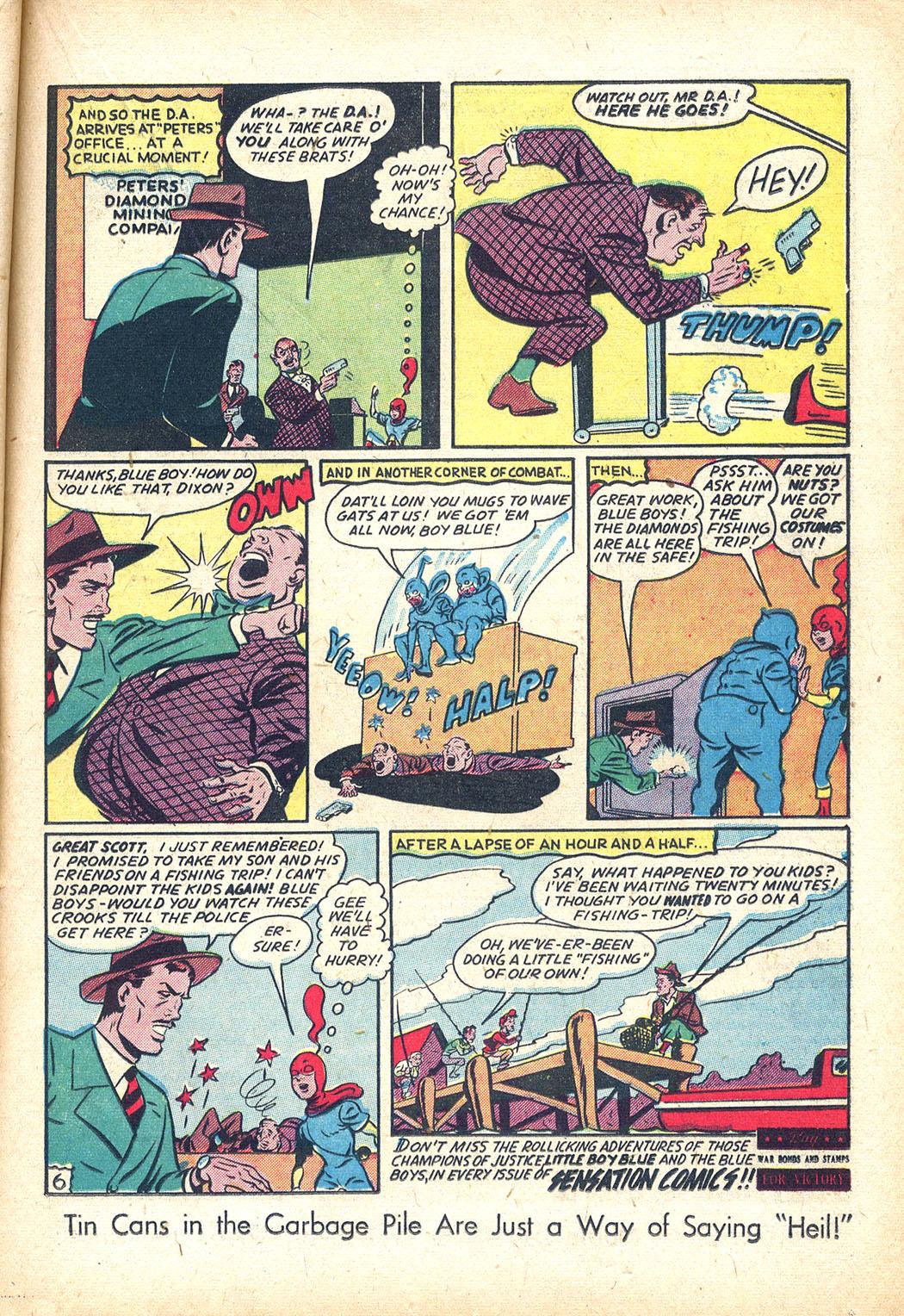 Read online Sensation (Mystery) Comics comic -  Issue #34 - 29