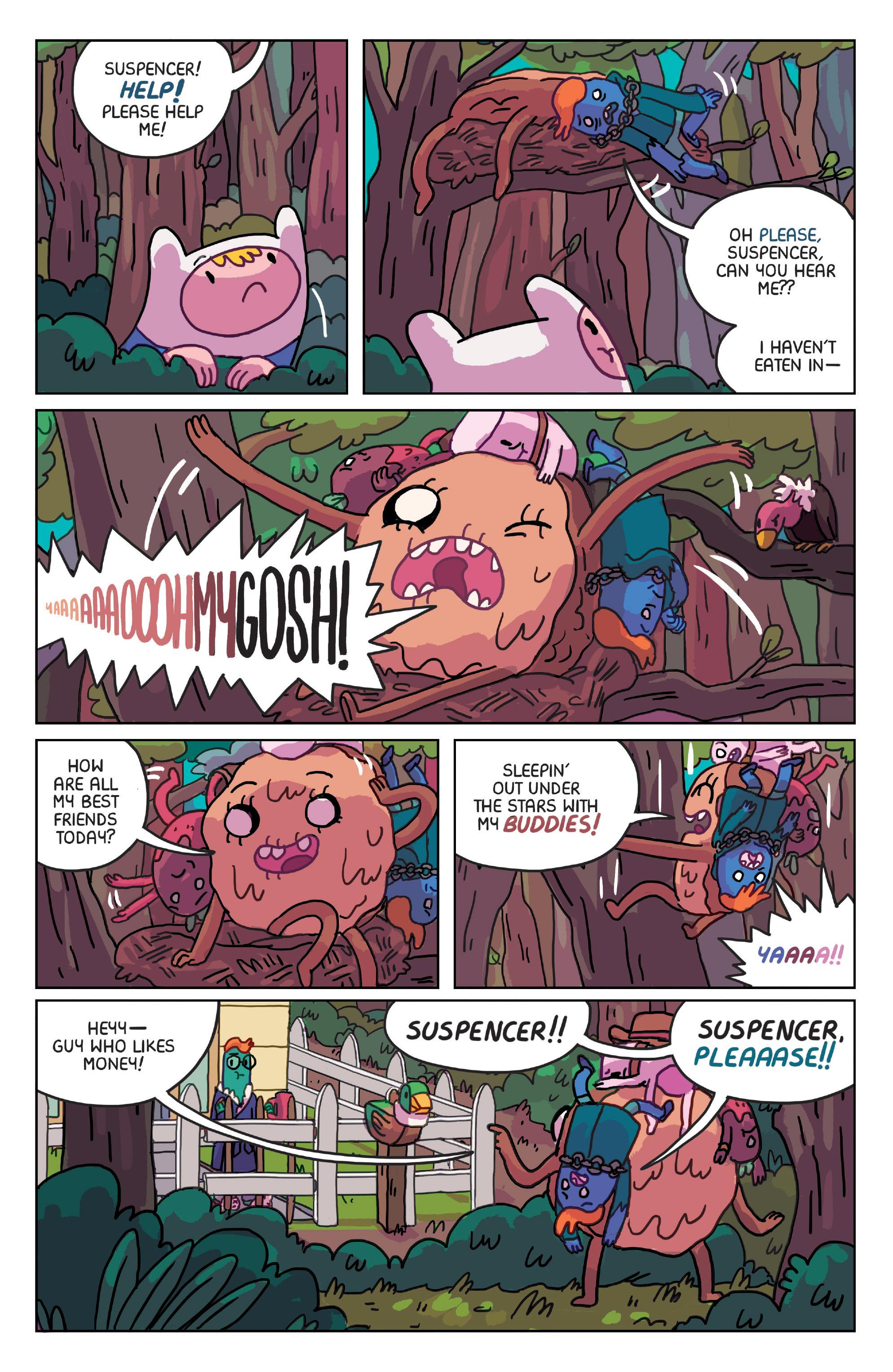Read online Adventure Time: Marceline Gone Adrift comic -  Issue #4 - 14