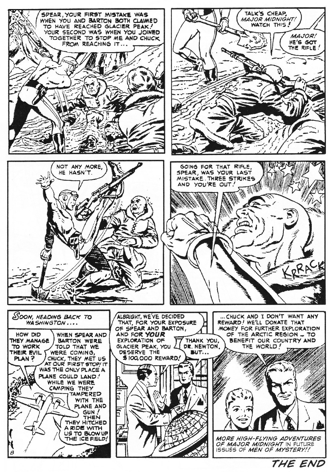 Read online Men of Mystery Comics comic -  Issue #72 - 33