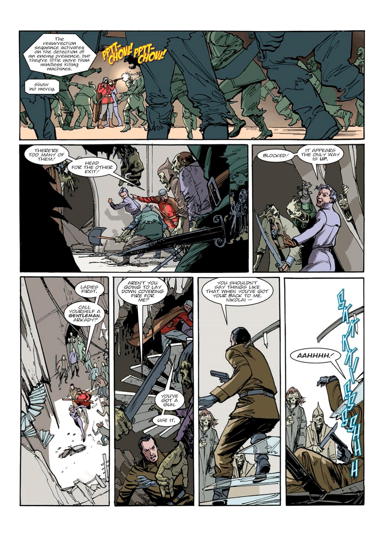 Read online Nikolai Dante comic -  Issue # TPB 9 - 152