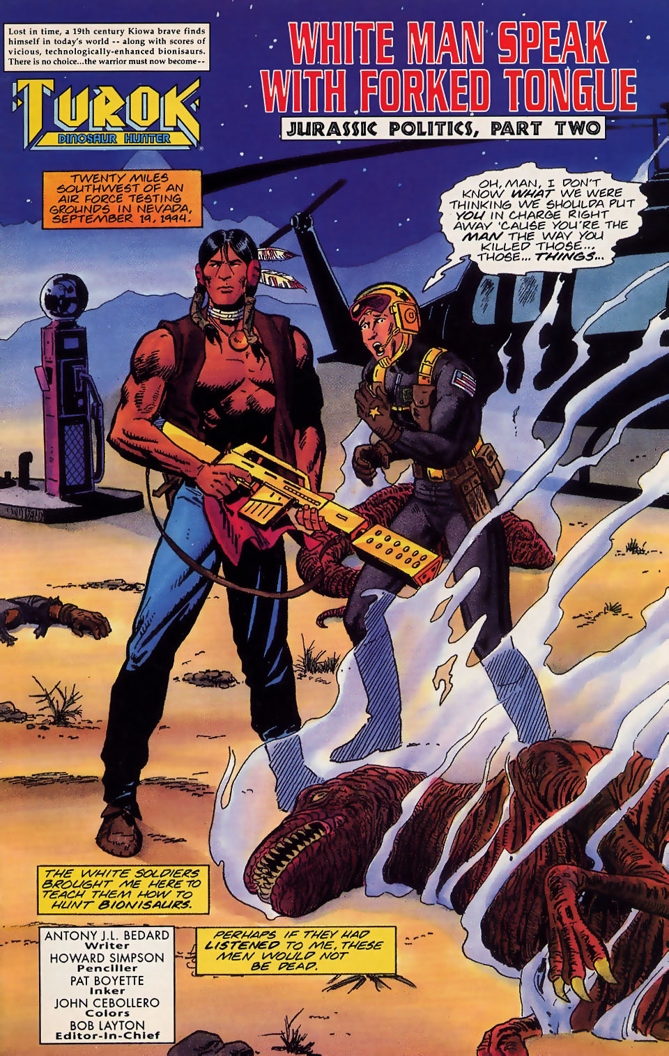 Read online Turok, Dinosaur Hunter (1993) comic -  Issue #18 - 2