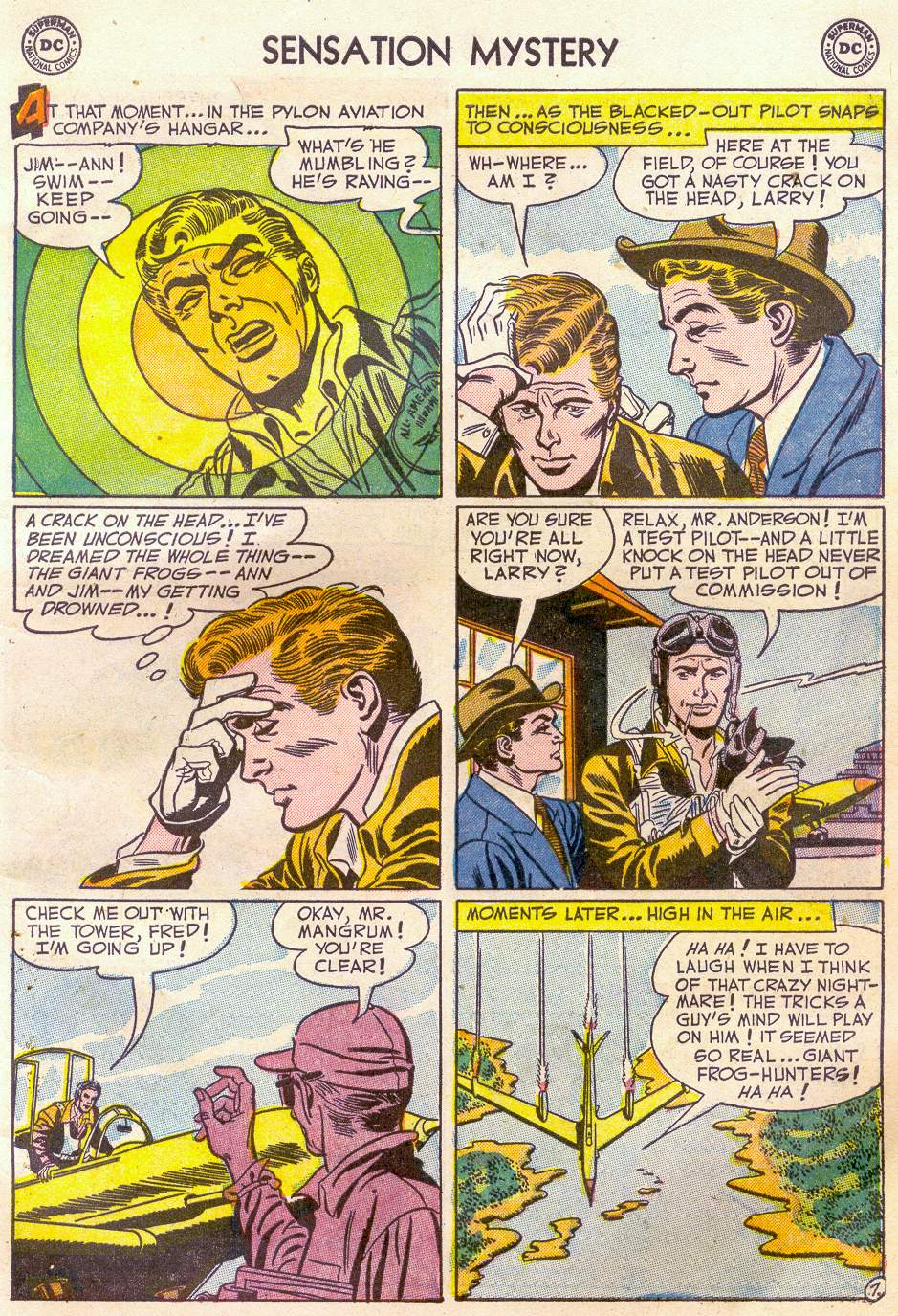 Read online Sensation (Mystery) Comics comic -  Issue #110 - 9