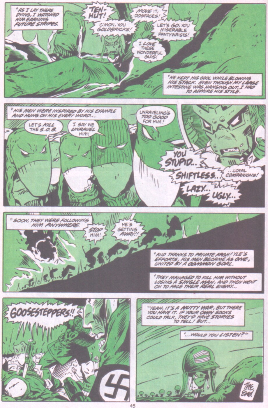 Read online Ambush Bug Nothing Special comic -  Issue # Full - 38
