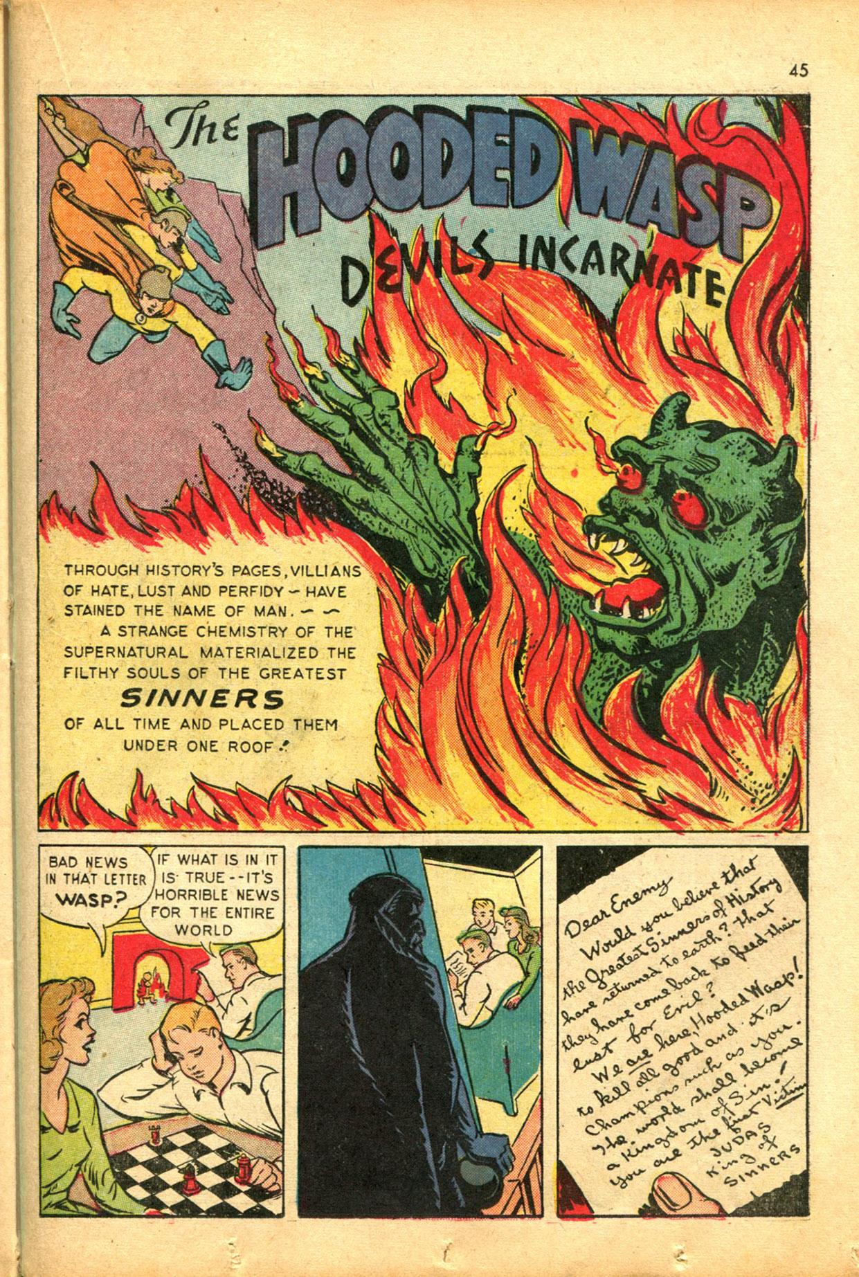 Read online Shadow Comics comic -  Issue #30 - 45