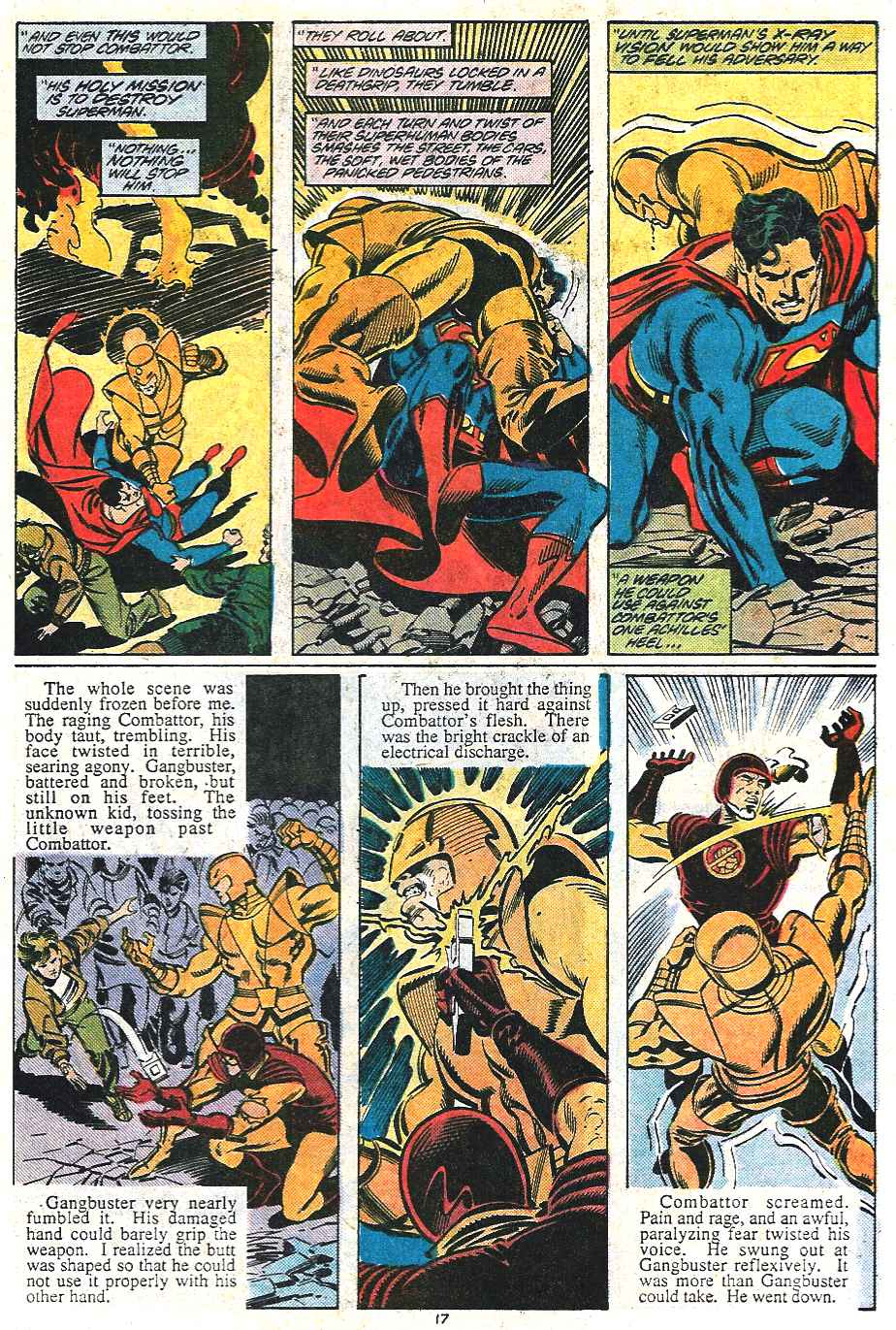 Read online Adventures of Superman (1987) comic -  Issue #437 - 17