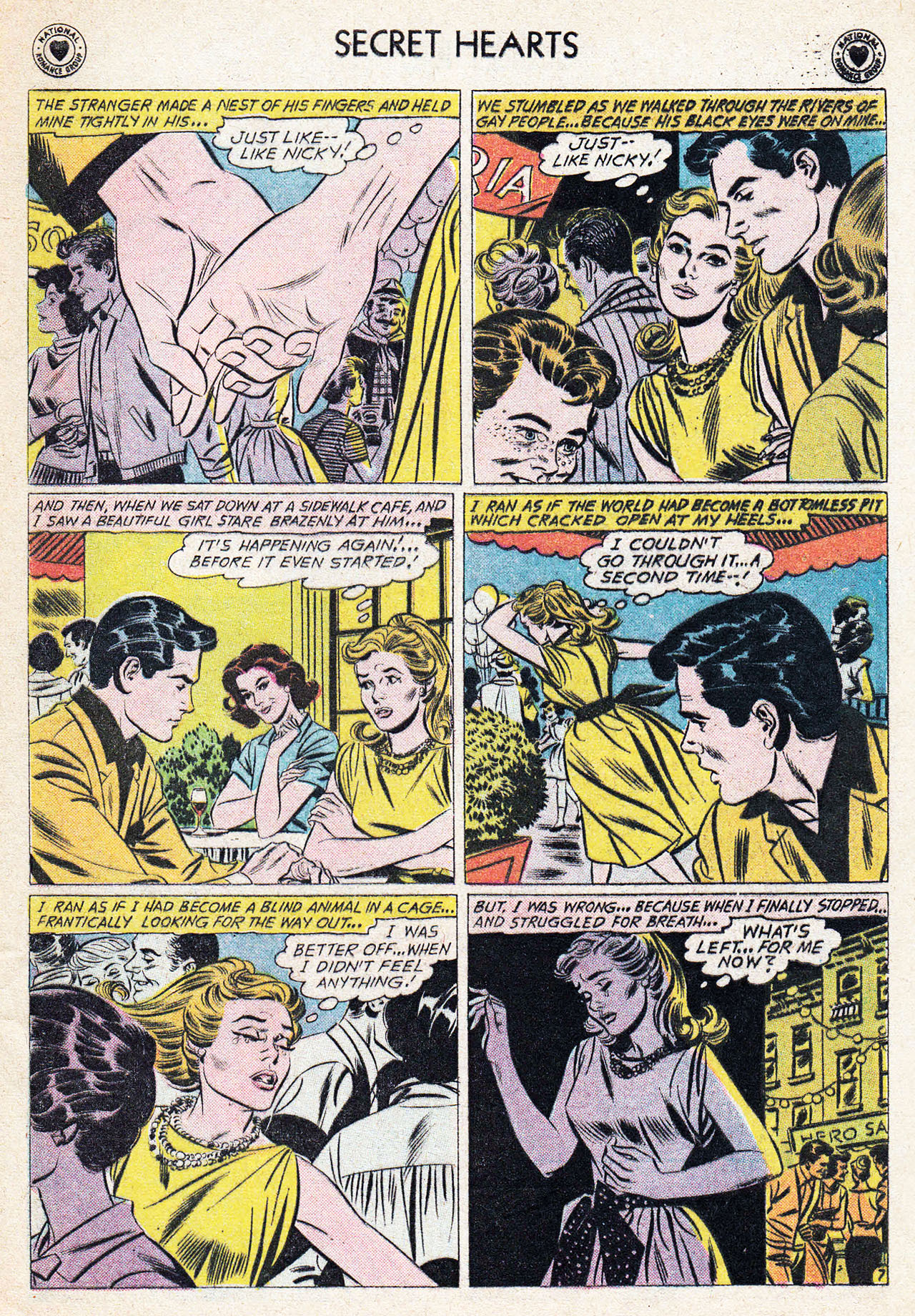 Read online Secret Hearts comic -  Issue #75 - 33