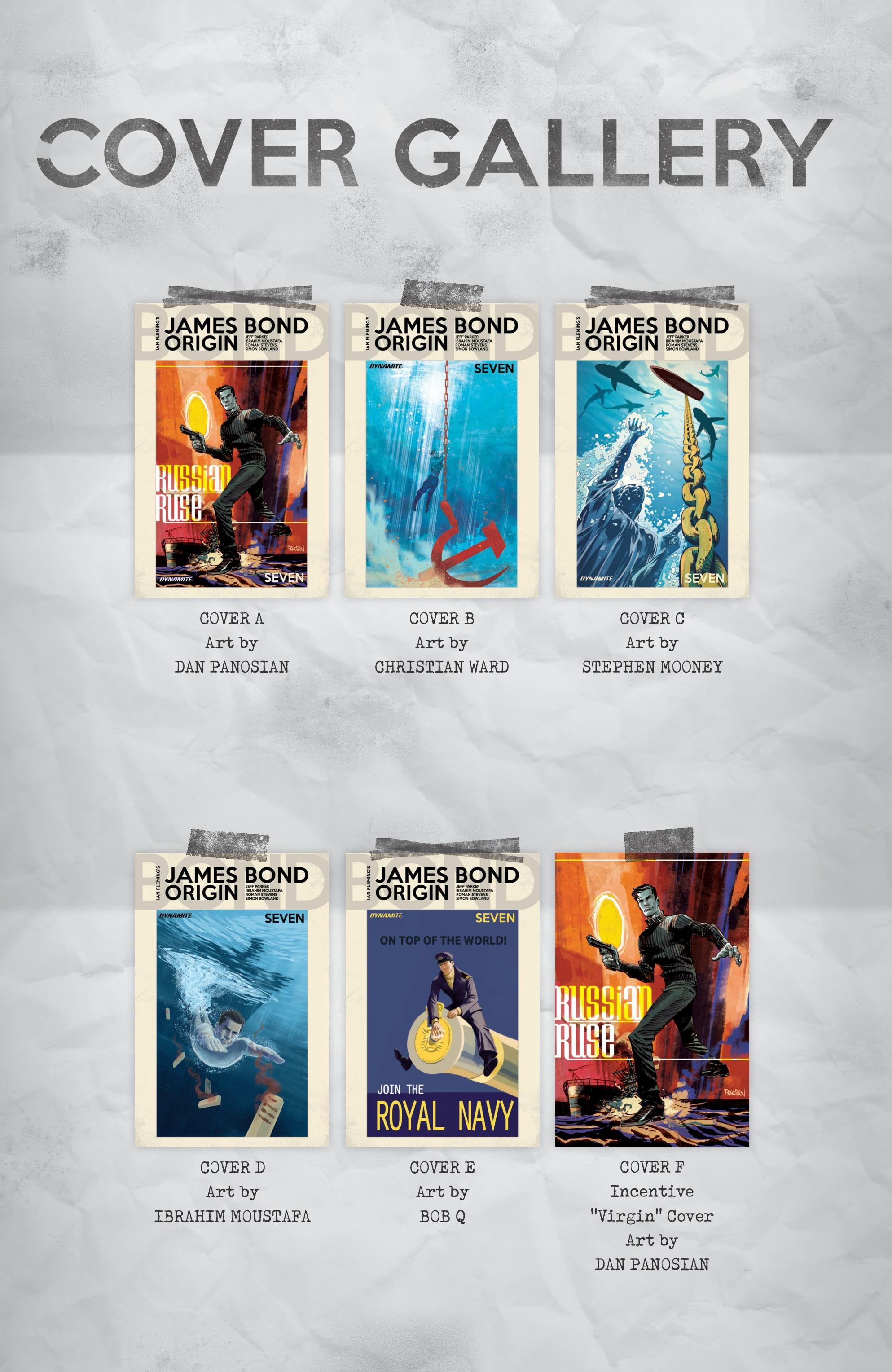 James Bond Origin Issue # 7 - ReadComic.Org