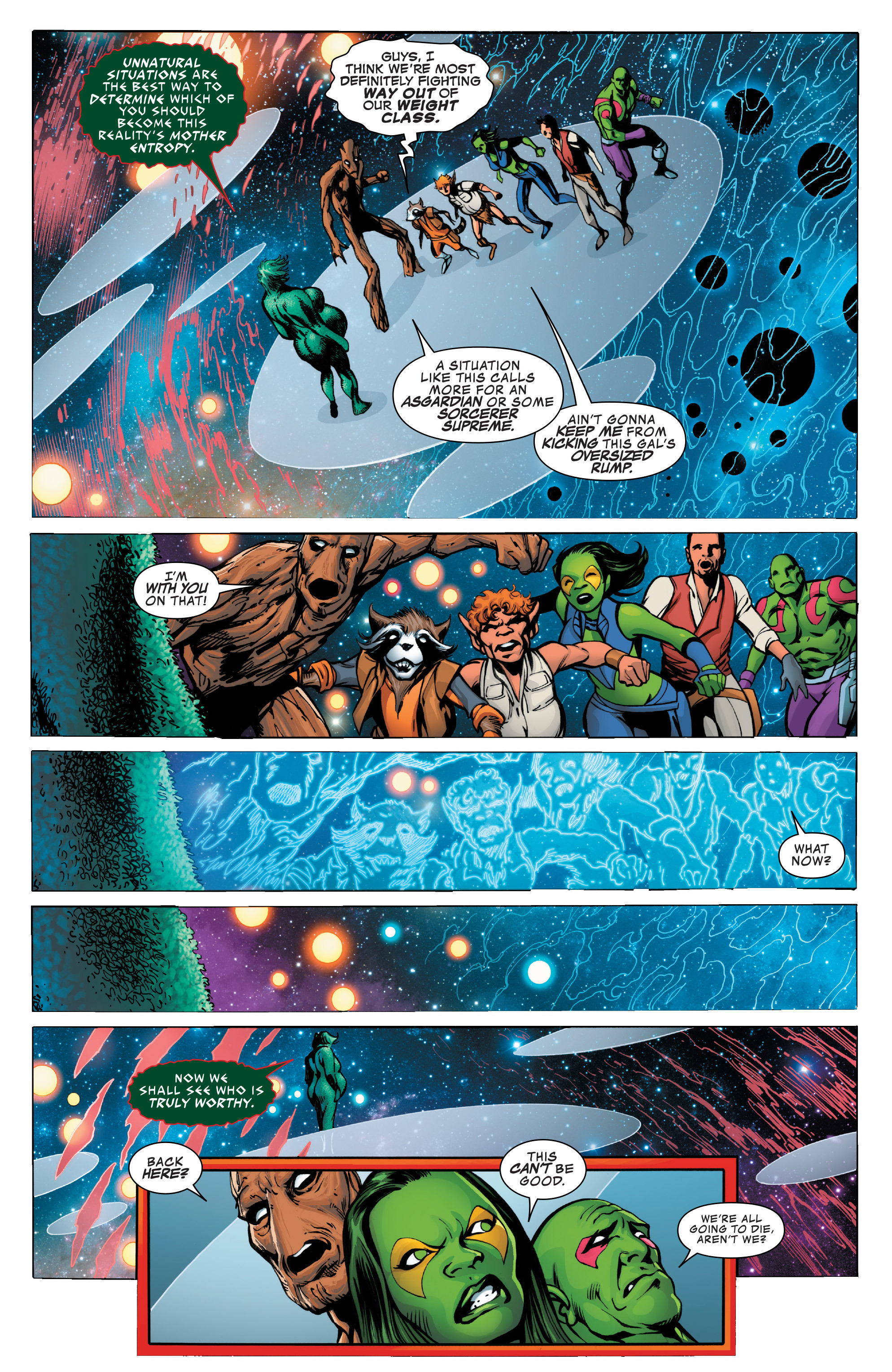 Read online Guardians of the Galaxy: Mother Entropy comic -  Issue #3 - 4