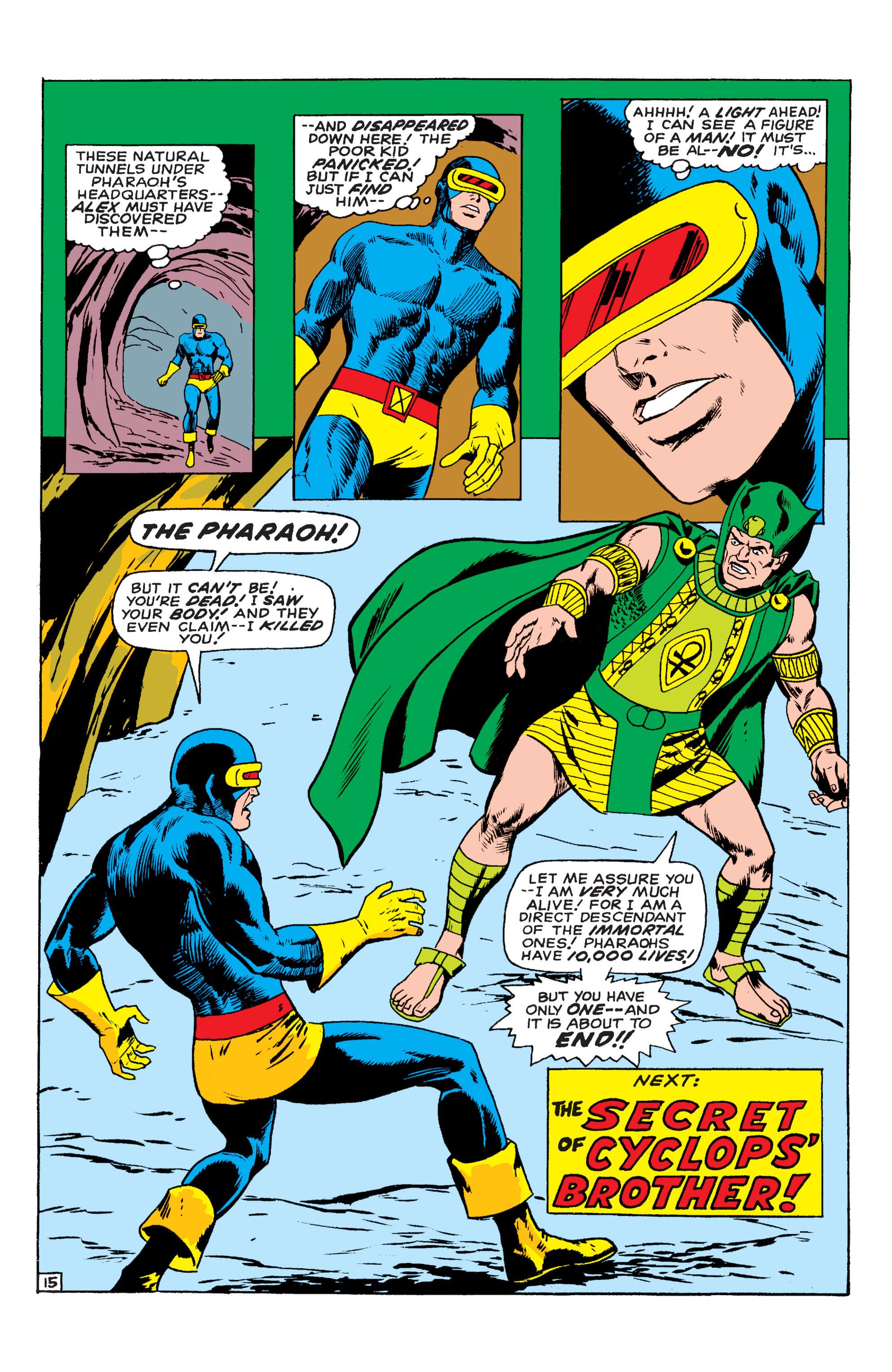 Read online Uncanny X-Men (1963) comic -  Issue #54 - 16