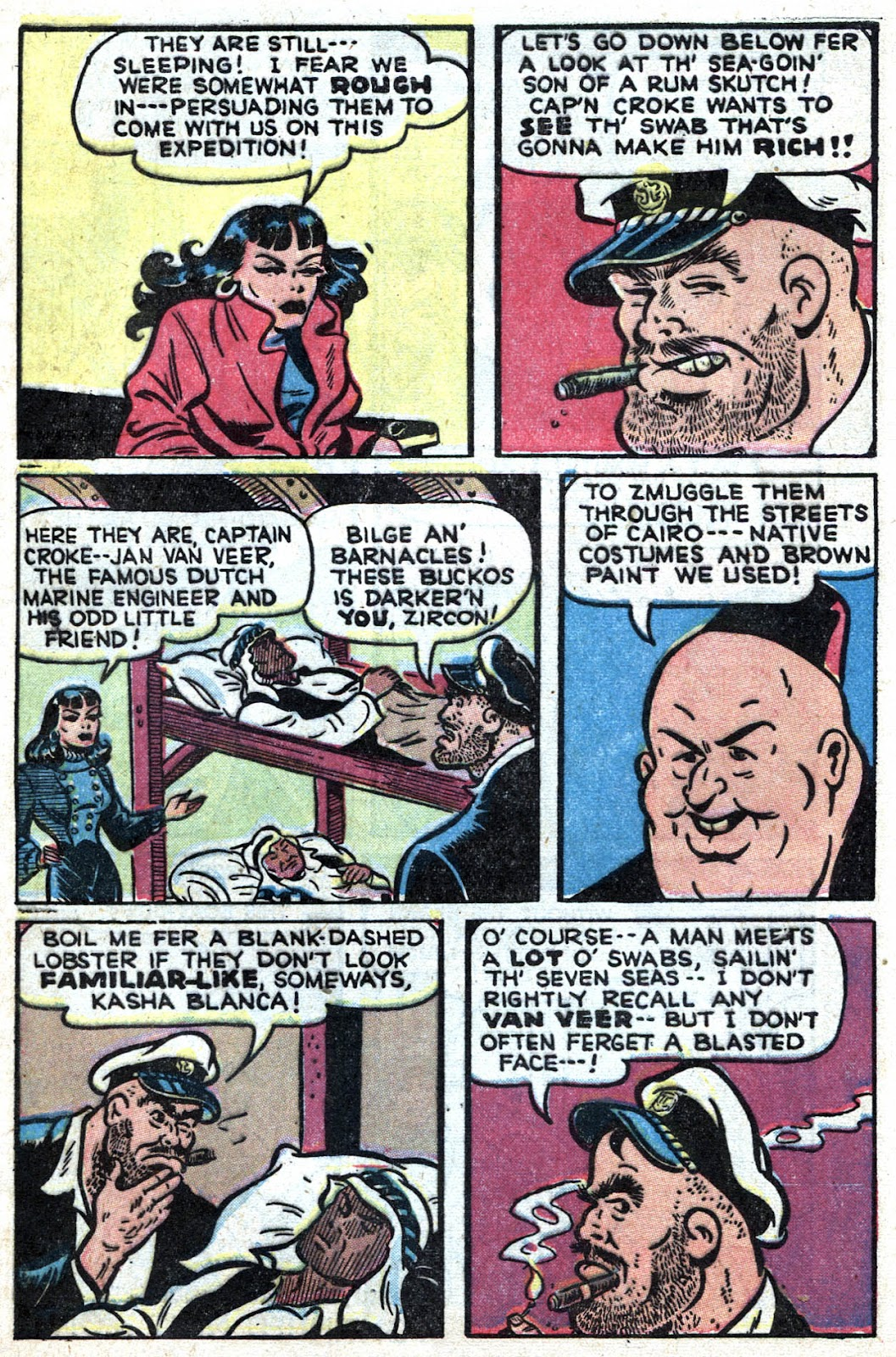 Read online Famous Funnies comic -  Issue #164 - 9