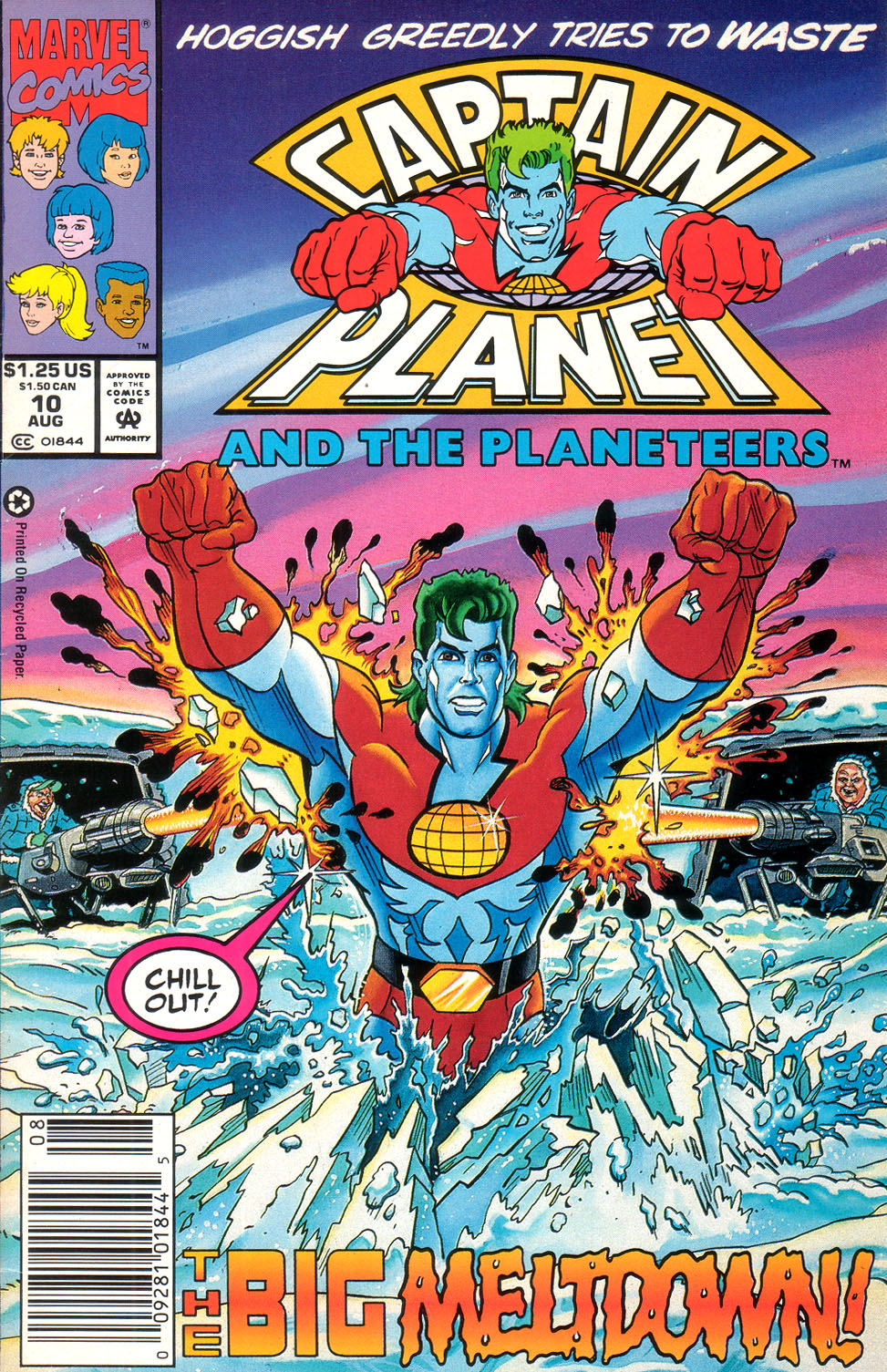 Captain Planet and the Planeteers 10 Page 1