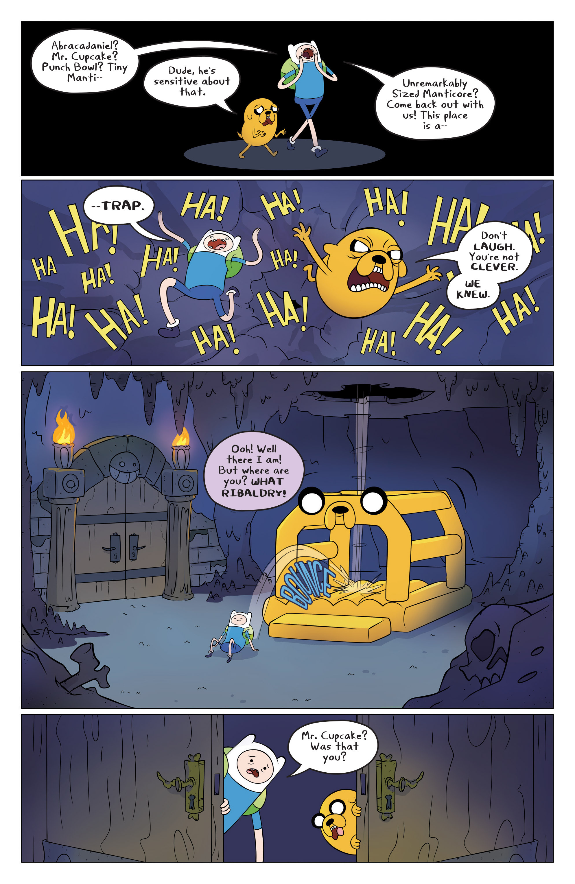 Read online Adventure Time comic -  Issue #45 - 7
