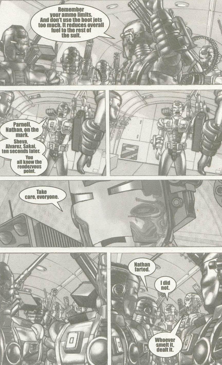 Read online U.S. War Machine comic -  Issue #6 - 11