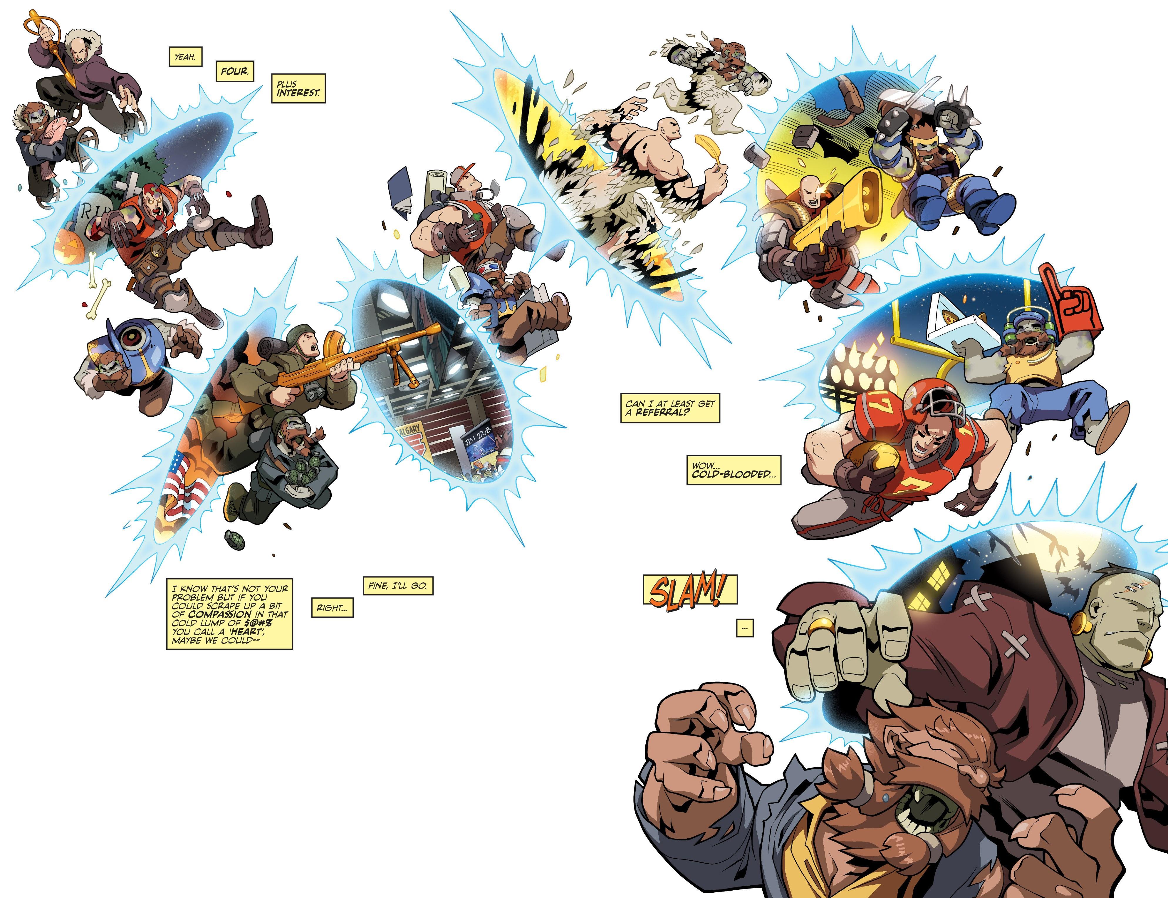 Read online Skullkickers comic -  Issue #100 - 5