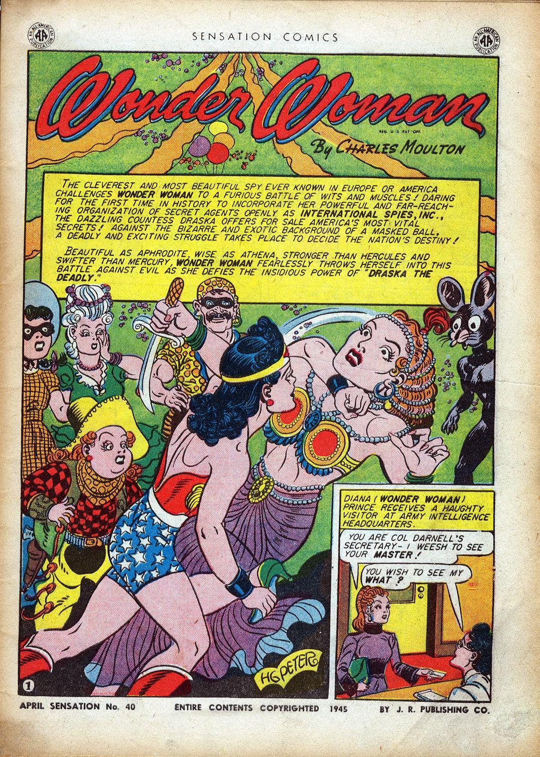 Read online Sensation (Mystery) Comics comic -  Issue #40 - 3