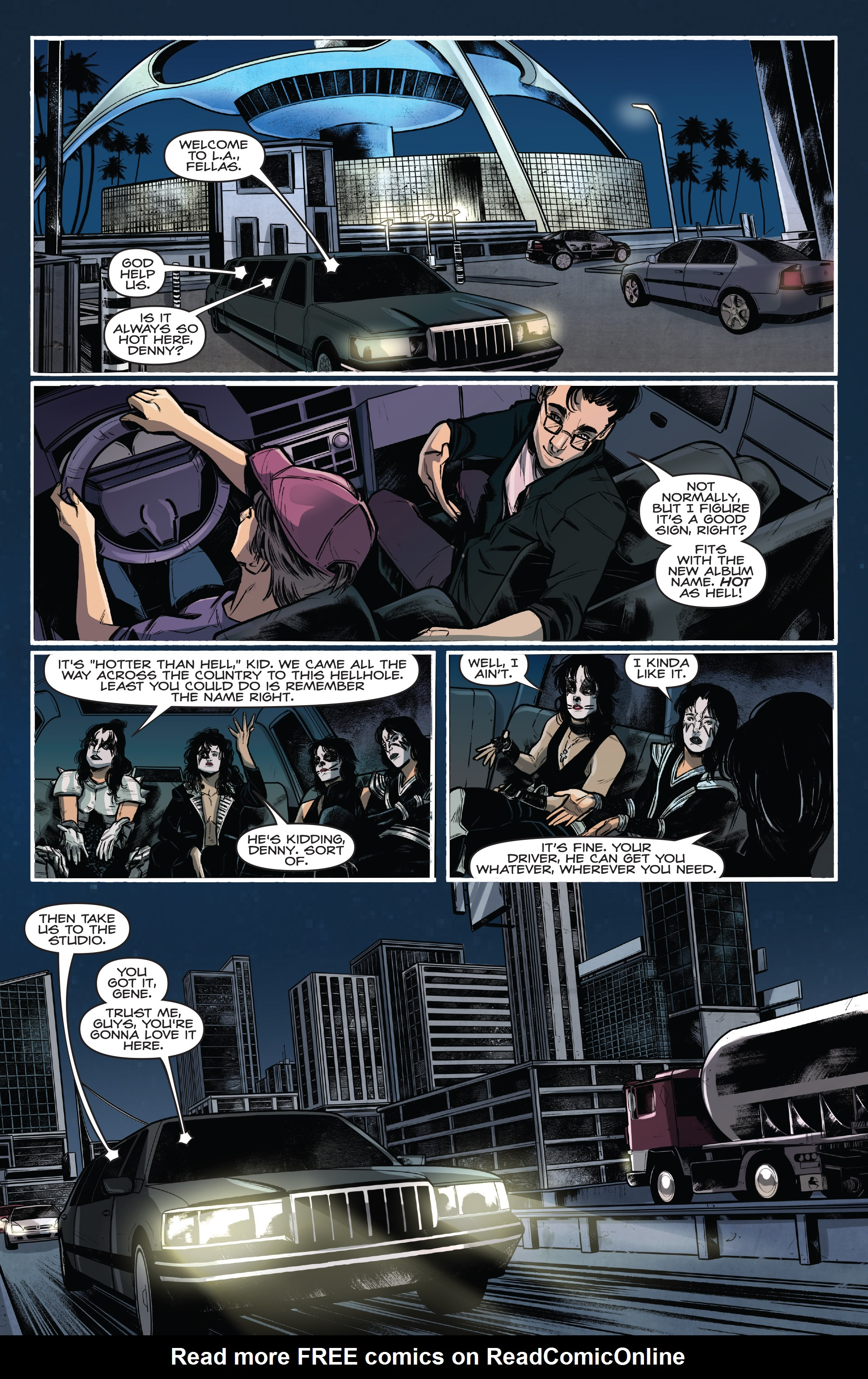 Read online Kiss/Vampirella comic -  Issue #1 - 14