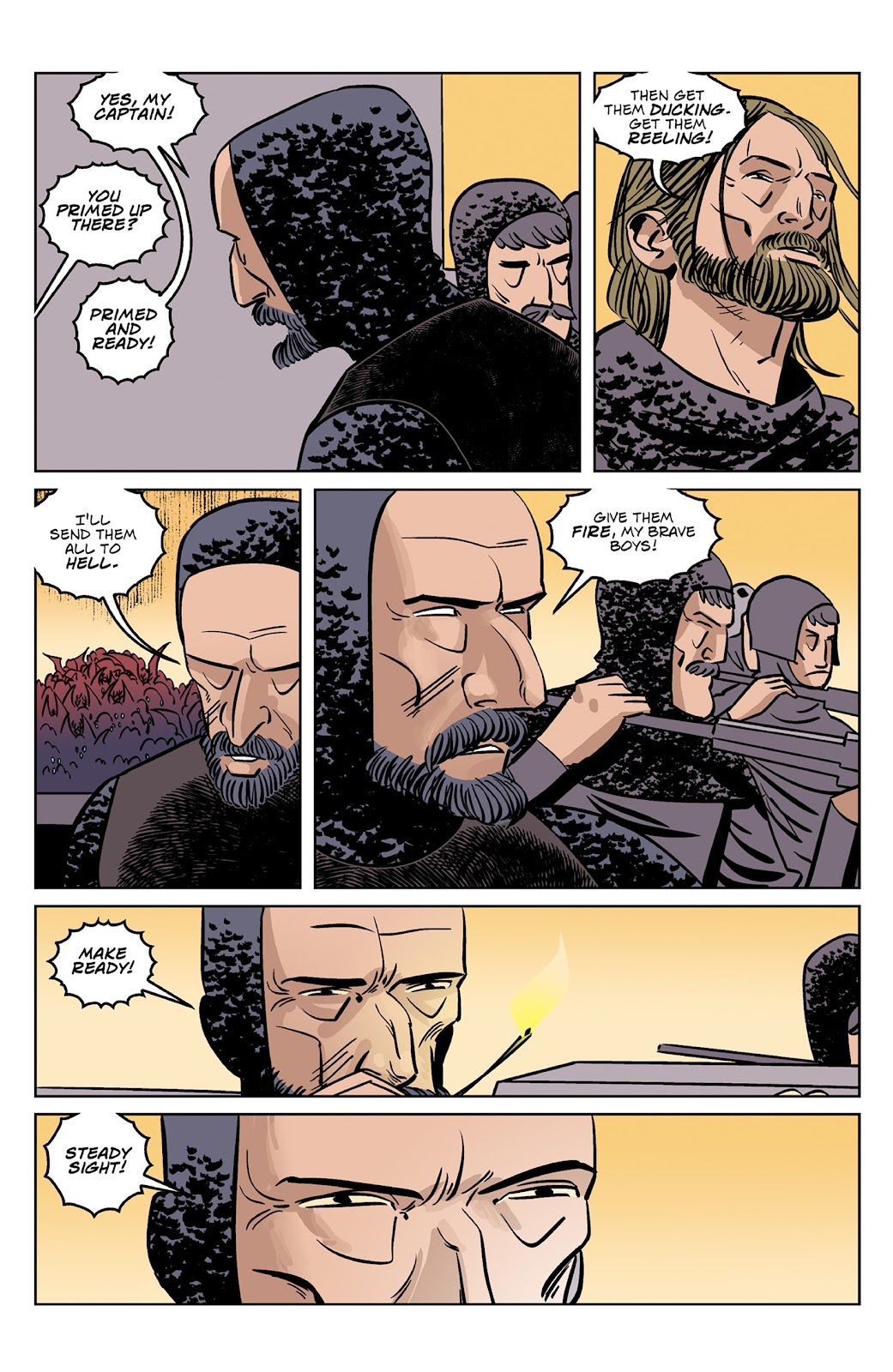 Read online Dark Ages comic -  Issue #4 - 6