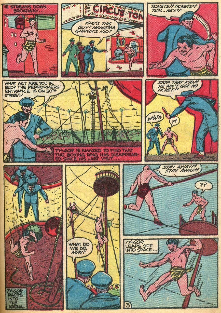 Blue Ribbon Comics (1939) issue 9 - Page 45