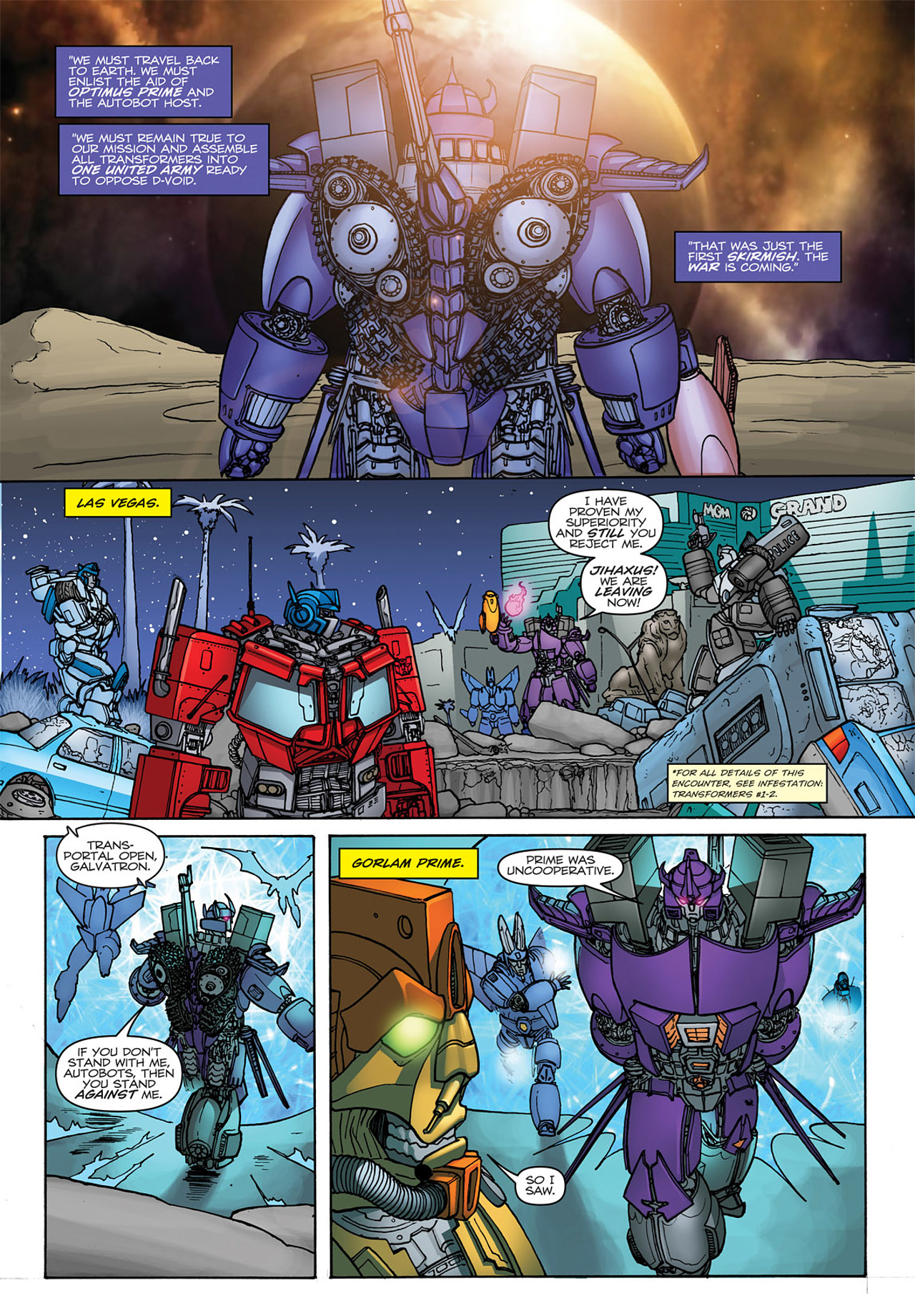Read online Transformers: Heart of Darkness comic -  Issue #4 - 21