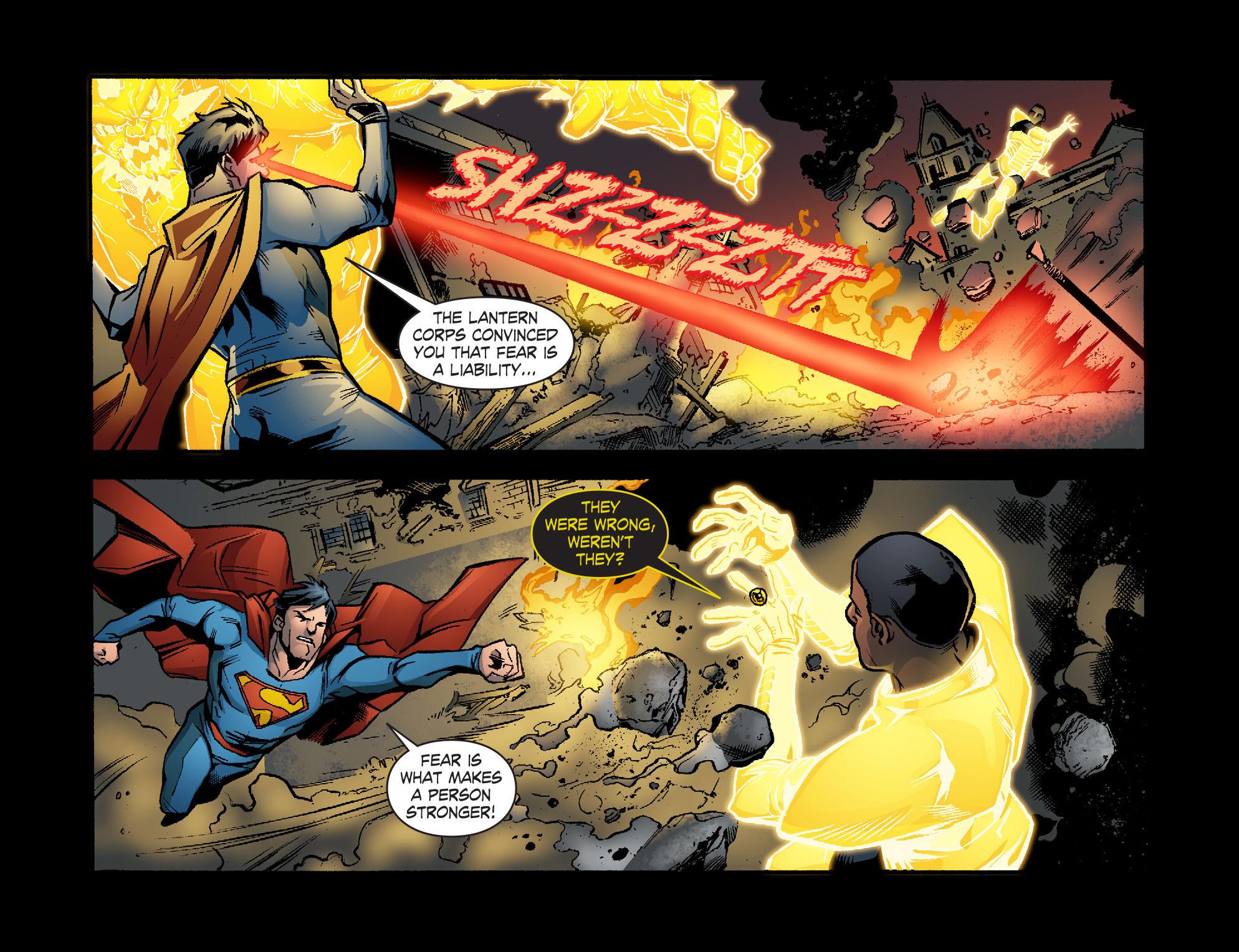 Read online Smallville: Lantern [I] comic -  Issue #10 - 15