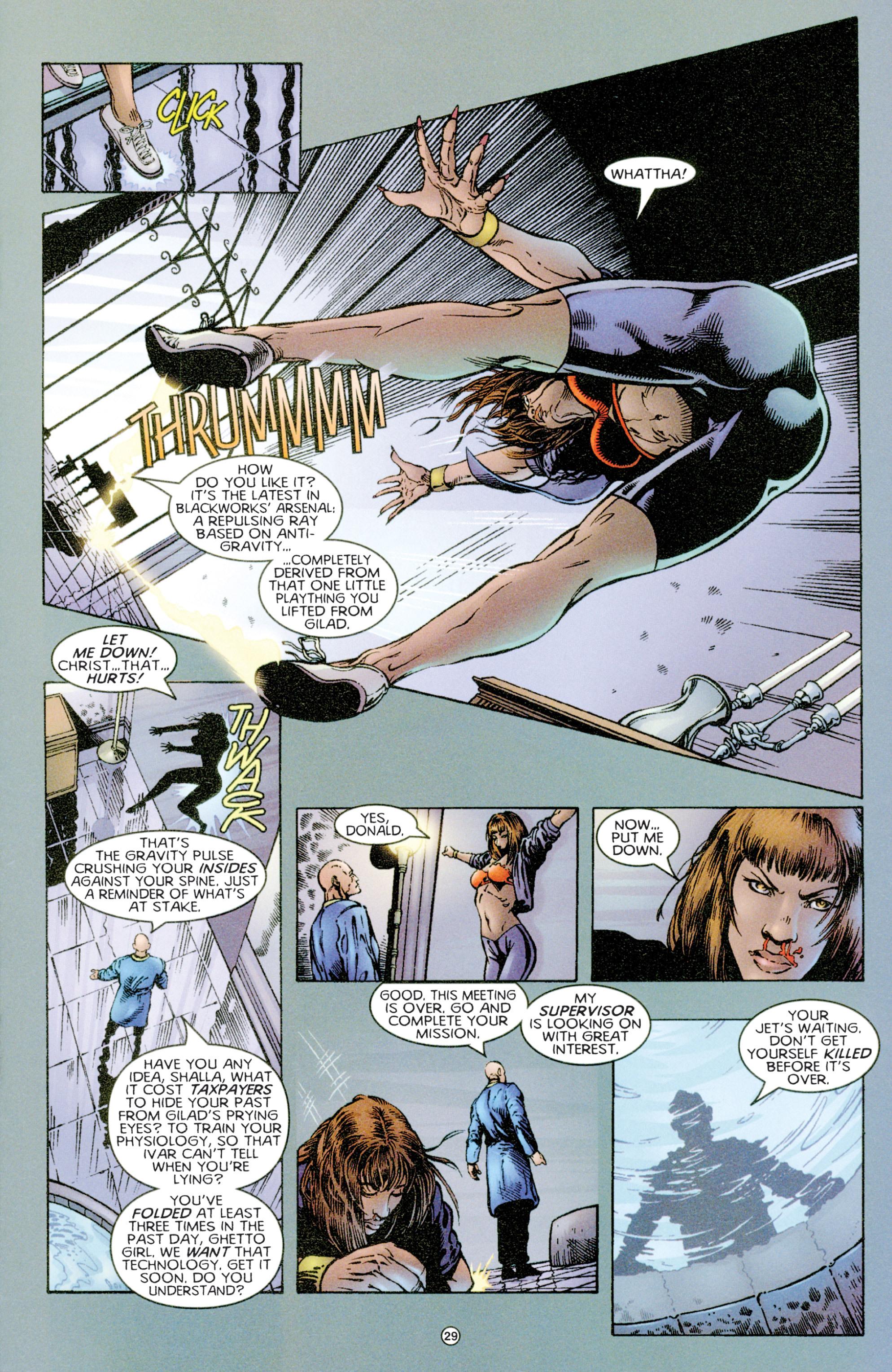 Read online Eternal Warriors comic -  Issue # Issue Time & Treachery - 28