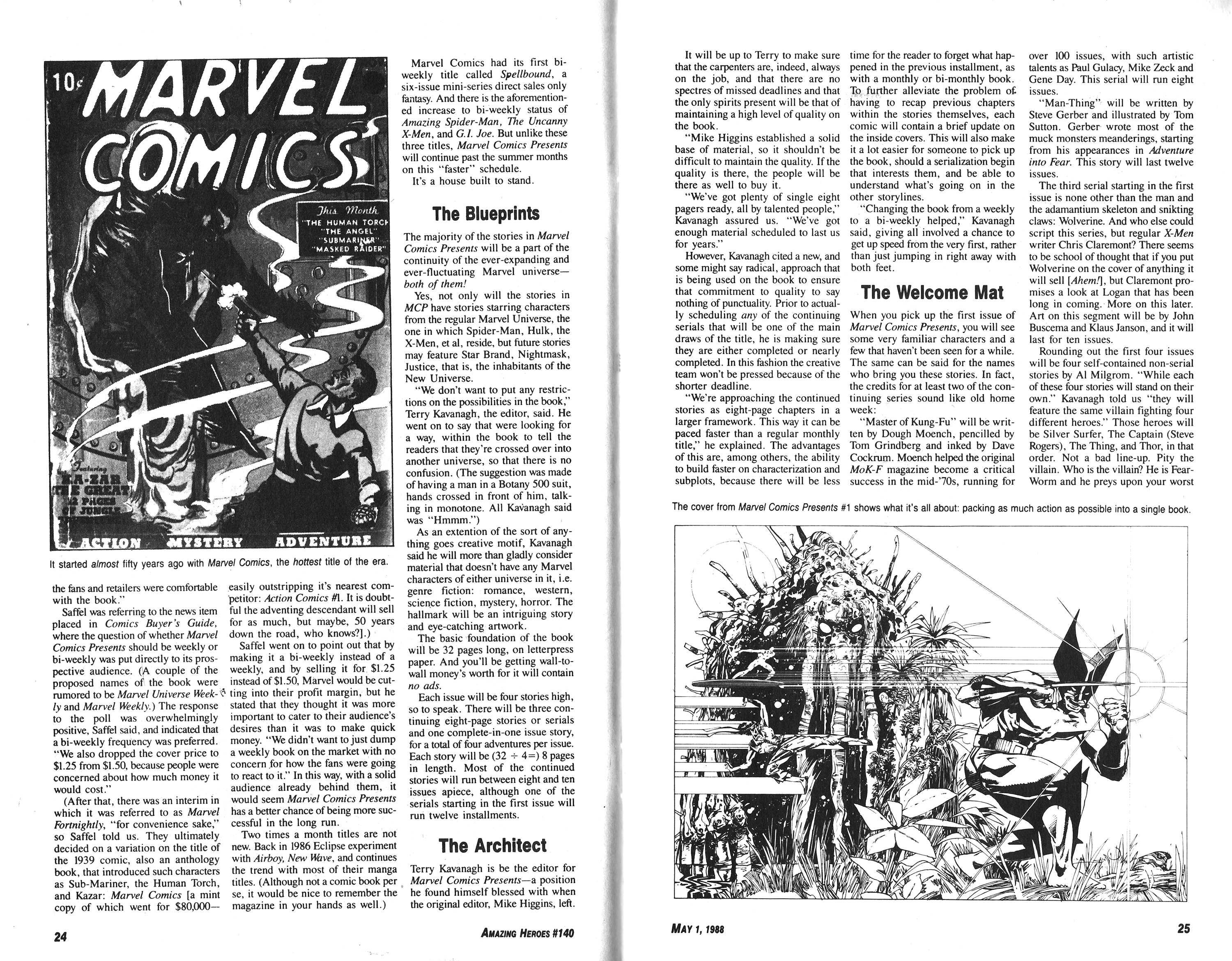 Read online Amazing Heroes comic -  Issue #140 - 13