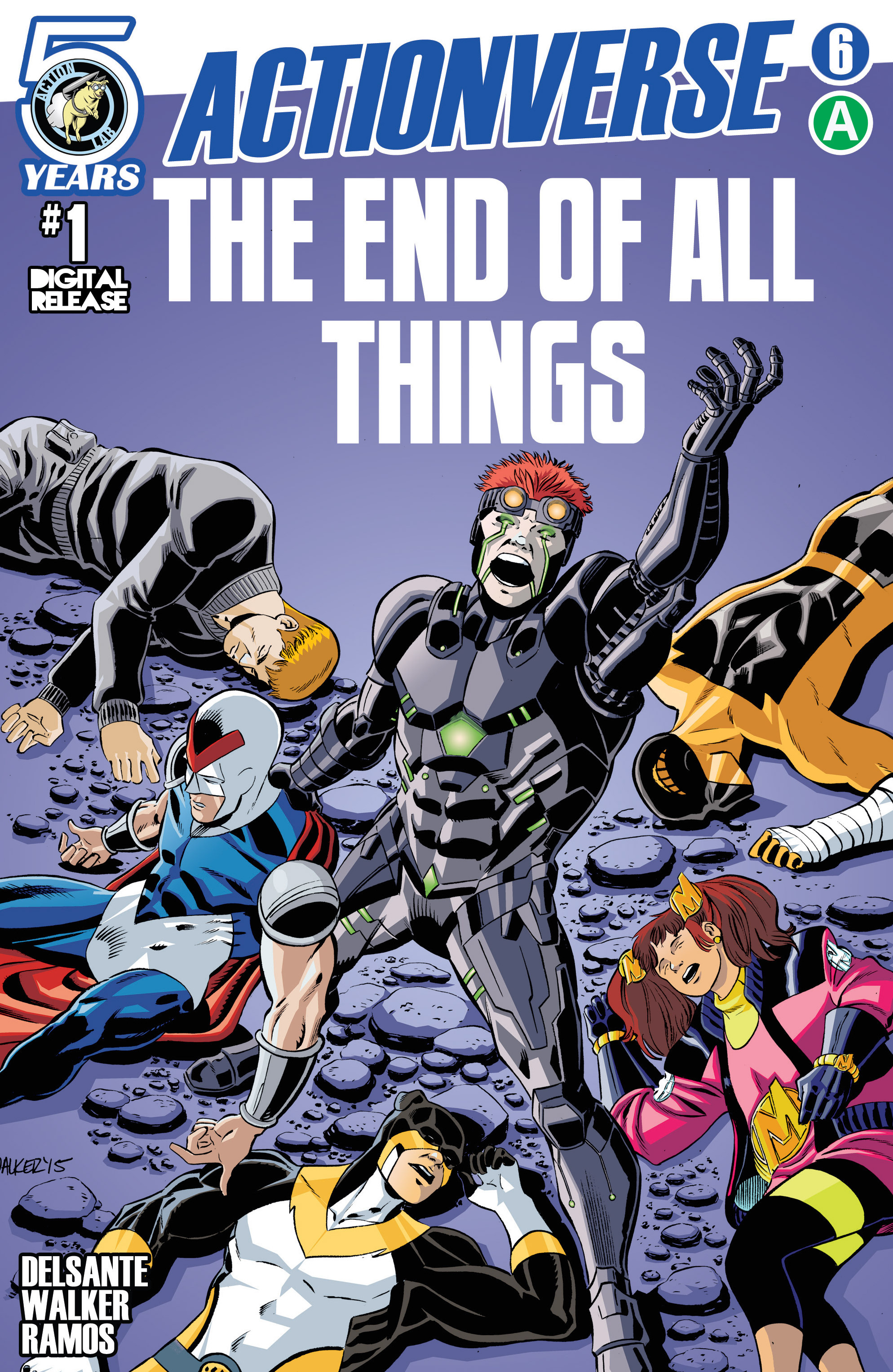 Read online Actionverse comic -  Issue #6 - 1
