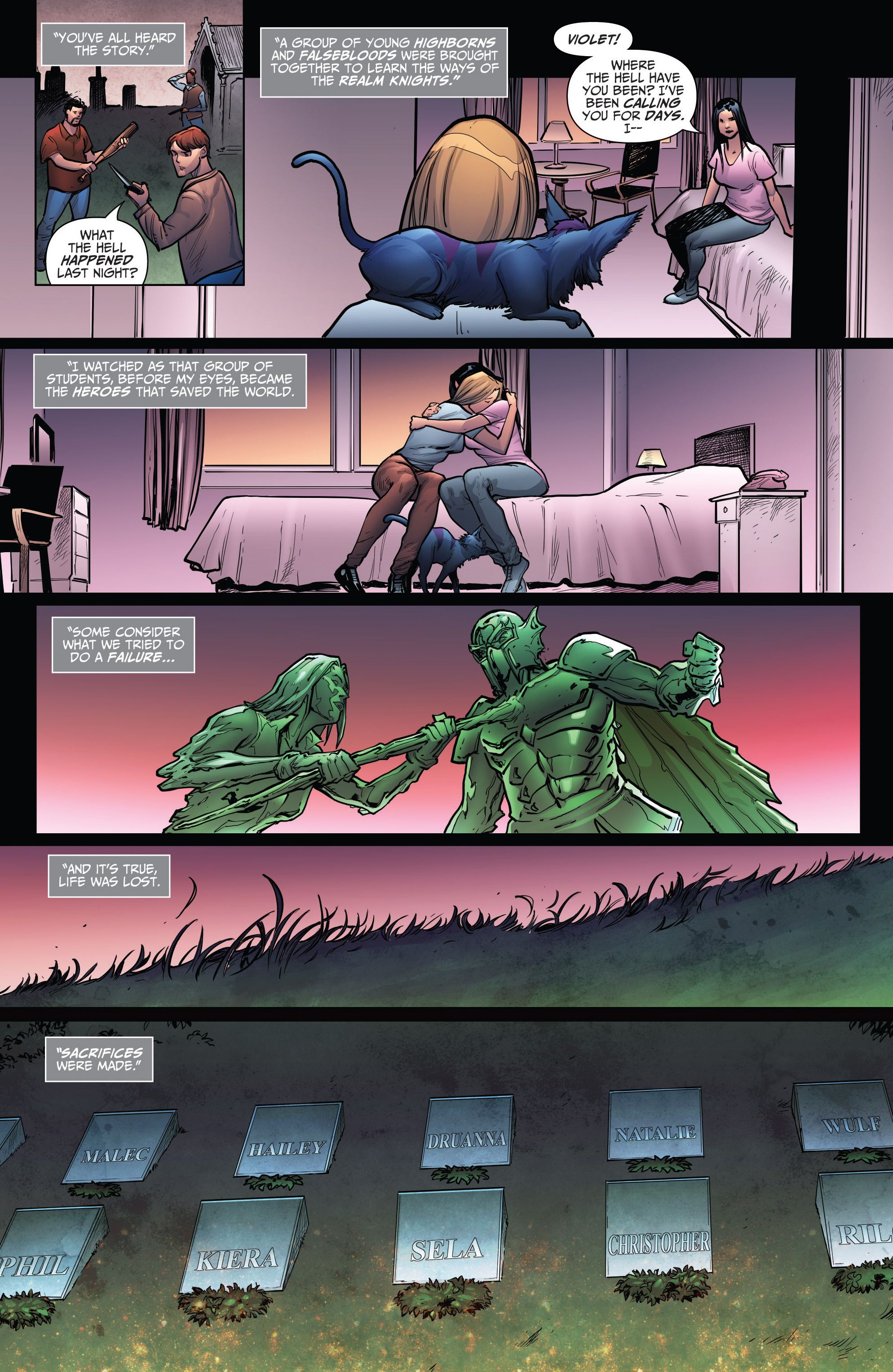 Read online Grimm Fairy Tales: Arcane Acre comic -  Issue # TPB 4 - 197