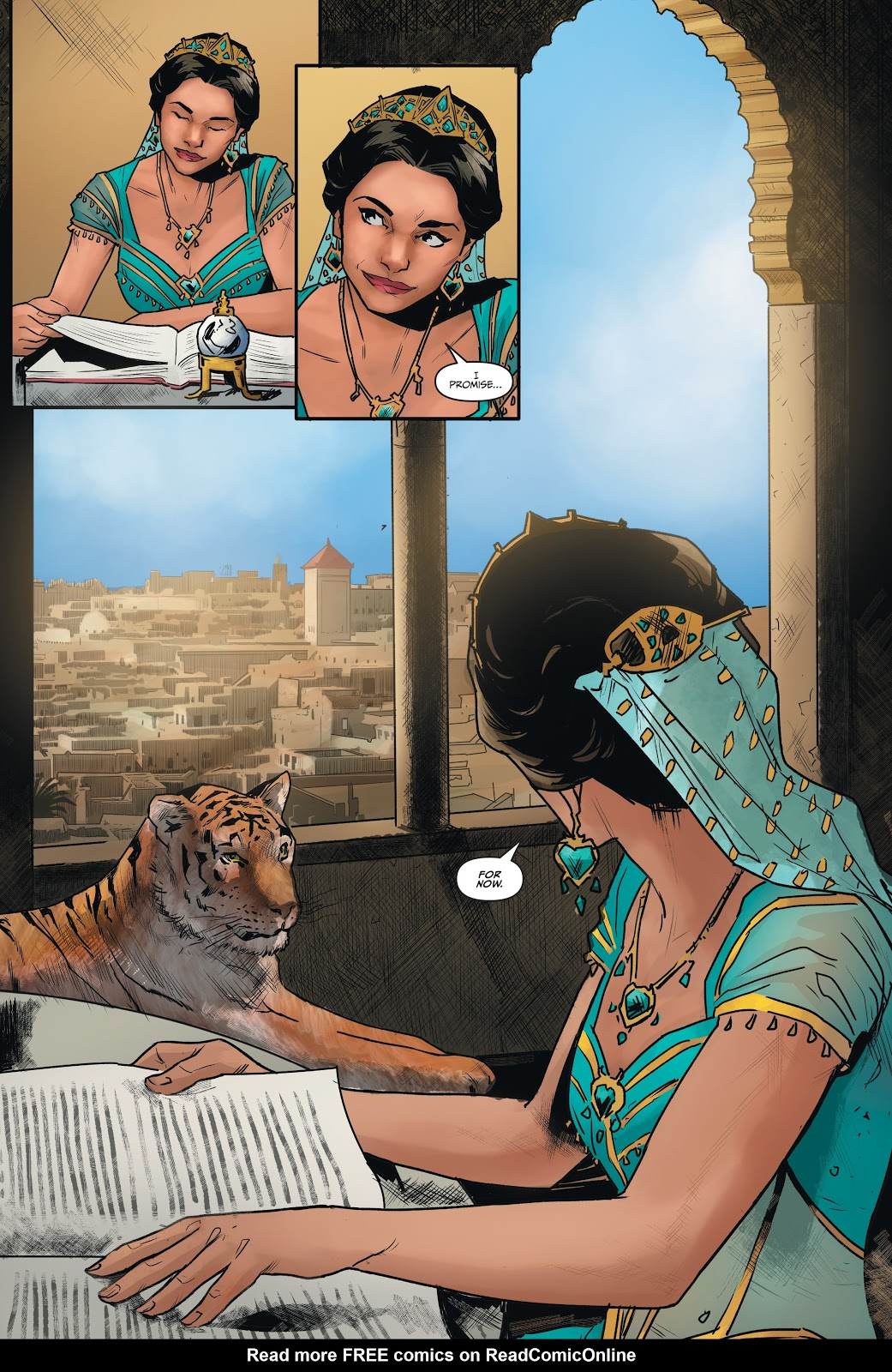 Read online Disney Aladdin: Four Tales of Agrabah comic -  Issue # TPB - 34