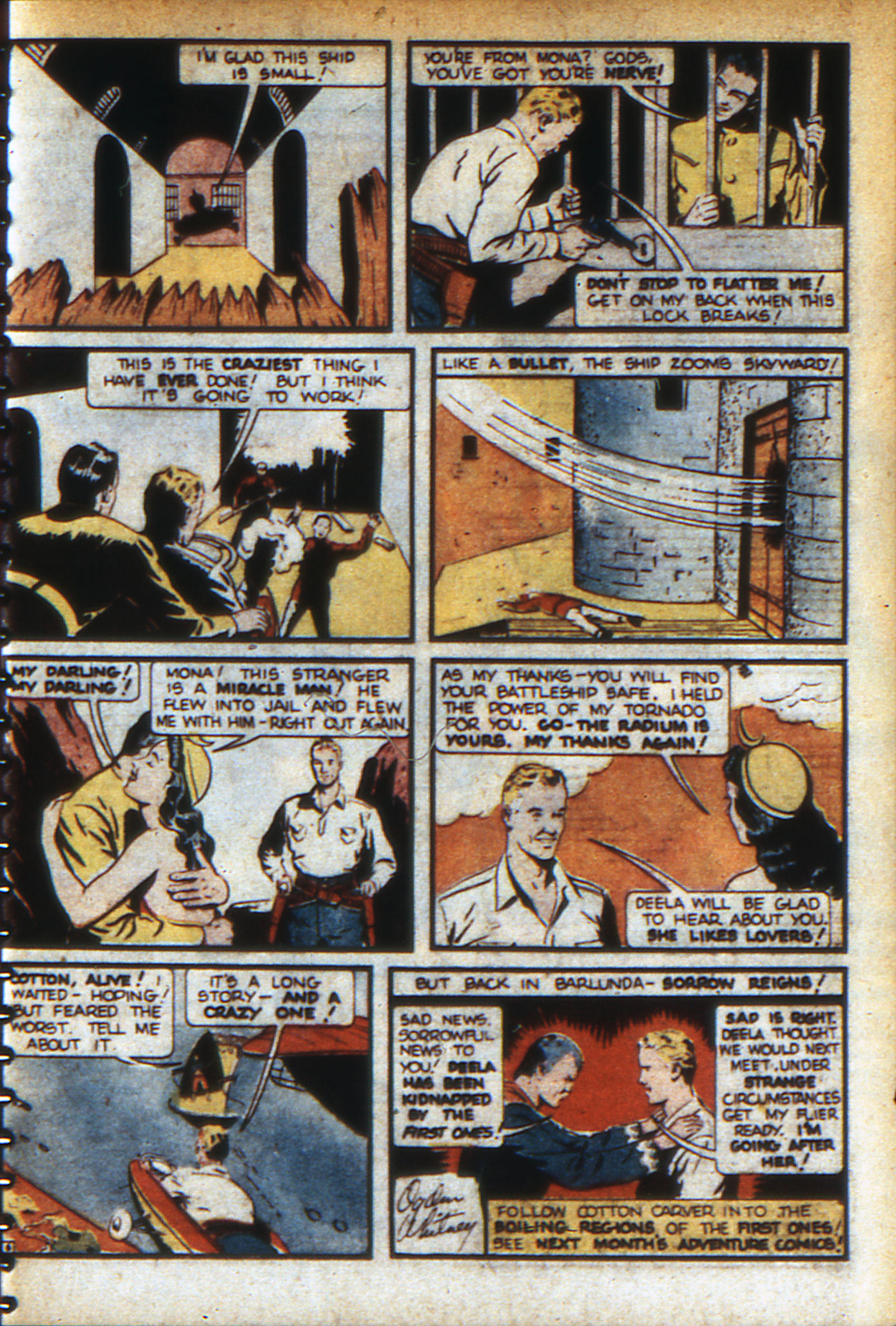 Read online Adventure Comics (1938) comic -  Issue #46 - 66