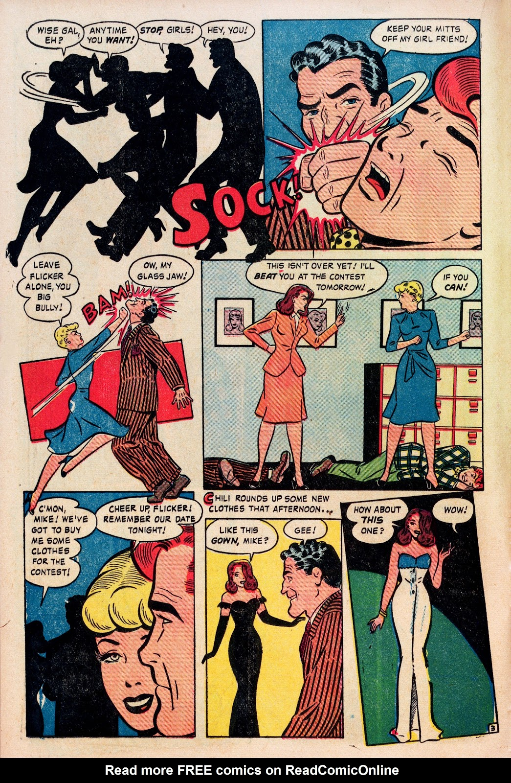 Read online Comedy Comics (1948) comic -  Issue #1 - 14