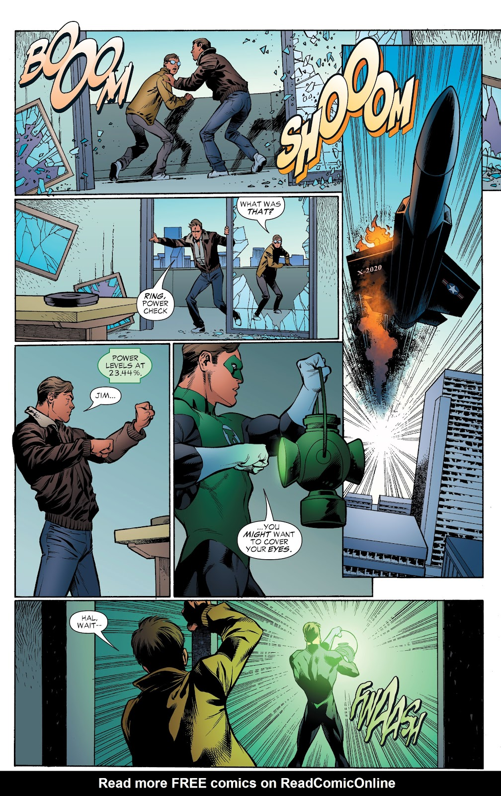 Read online Green Lantern by Geoff Johns comic -  Issue # TPB 1 (Part 4) - 17