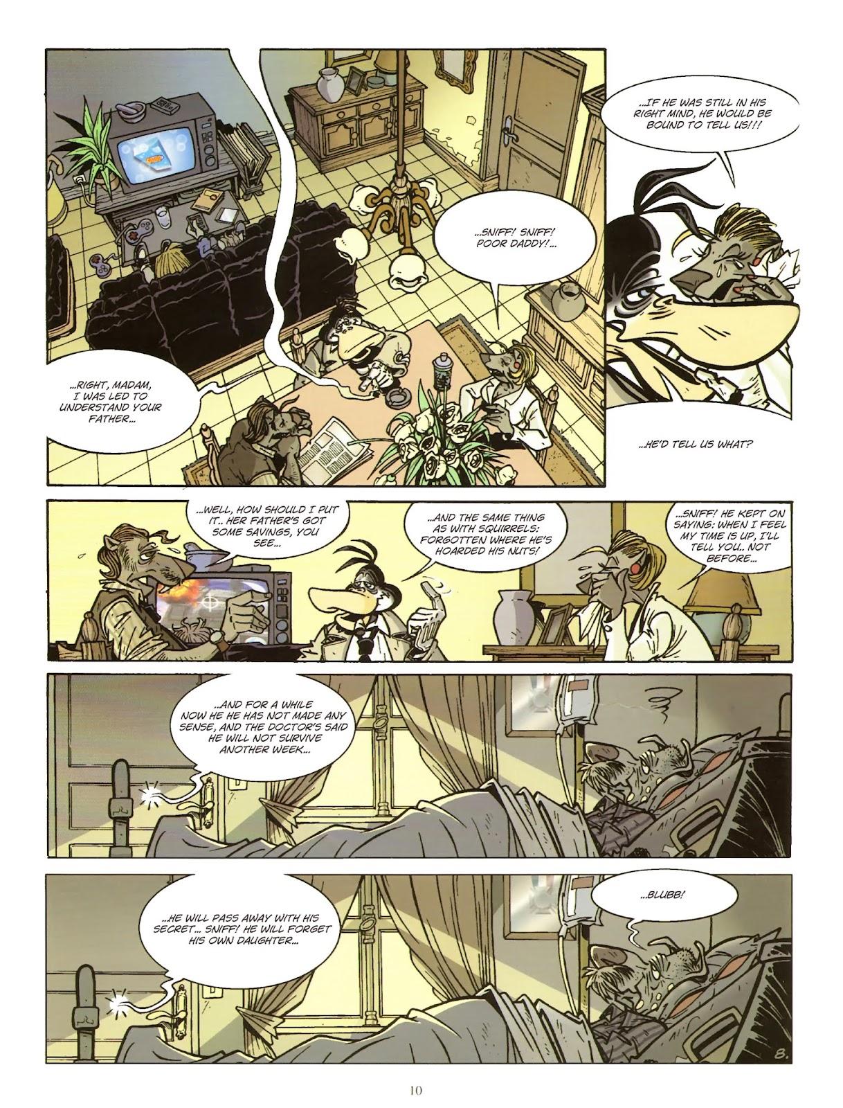 Une enquête de l'inspecteur Canardo issue 11 - Page 11
